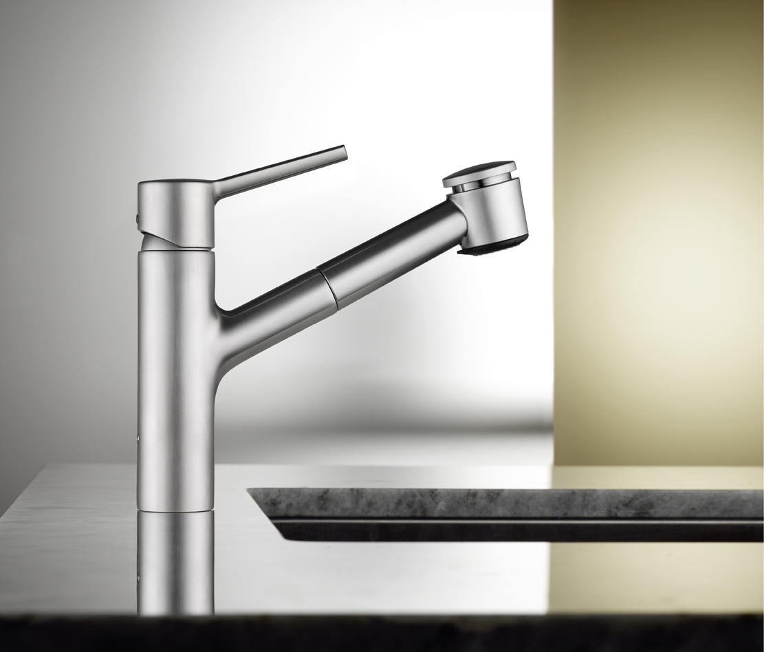 KWC LUNA S LEVER MIXER|SWIVEL SPOUT 270° - Kitchen taps from KWC ...
