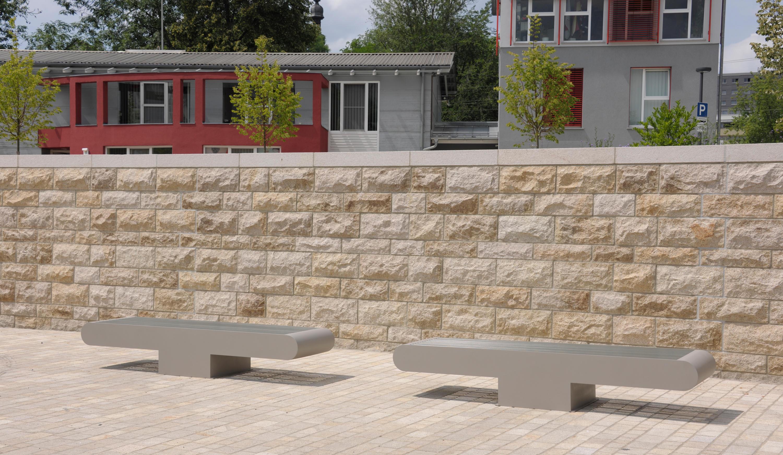 Comfony 900 stool bench 885 panche da esterno benkert for Arredo urbano in inglese