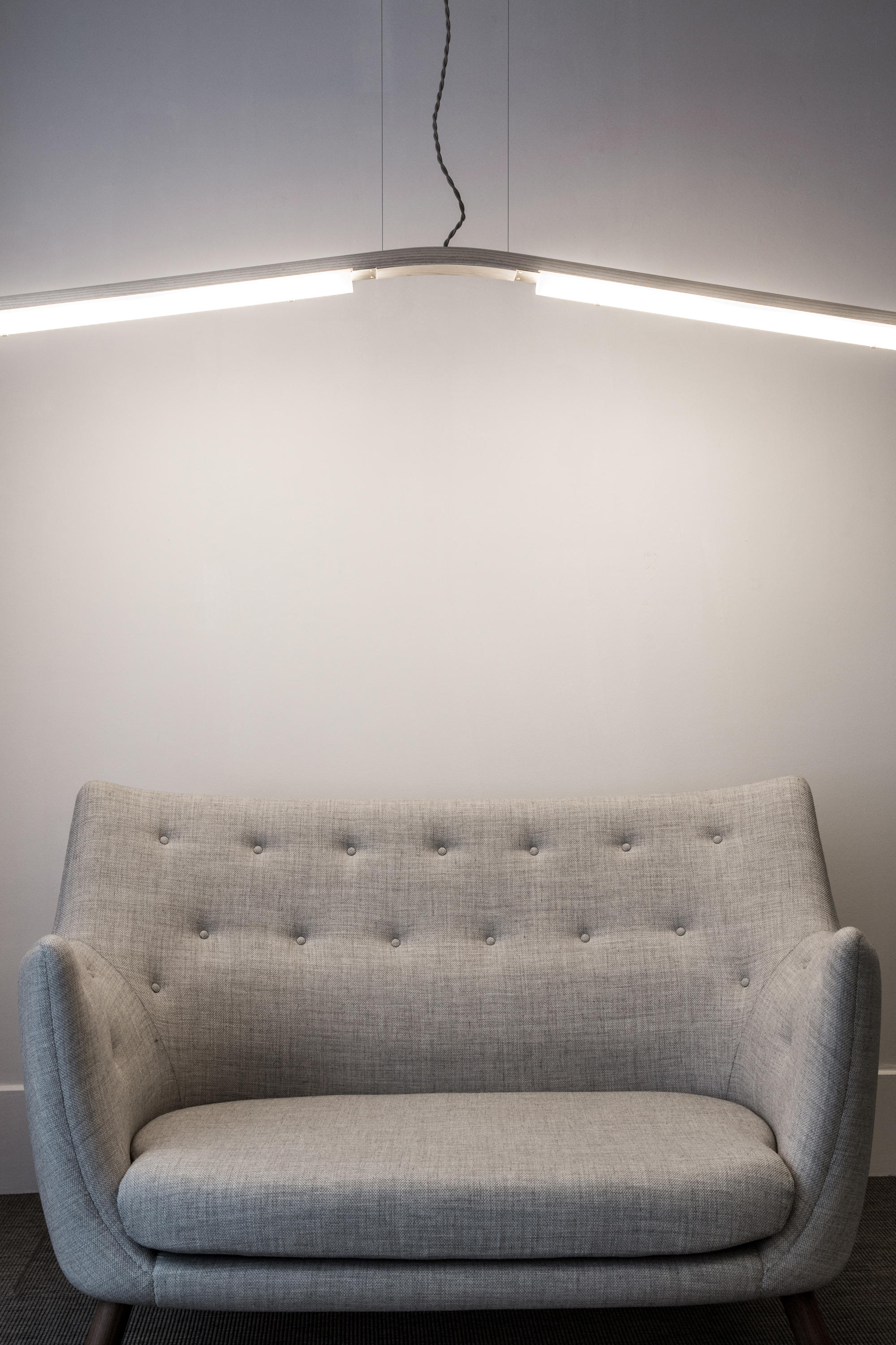 Counterweight floor lamp ash general lighting from roll hill counterweight floor lamp ash by roll hill mozeypictures Image collections