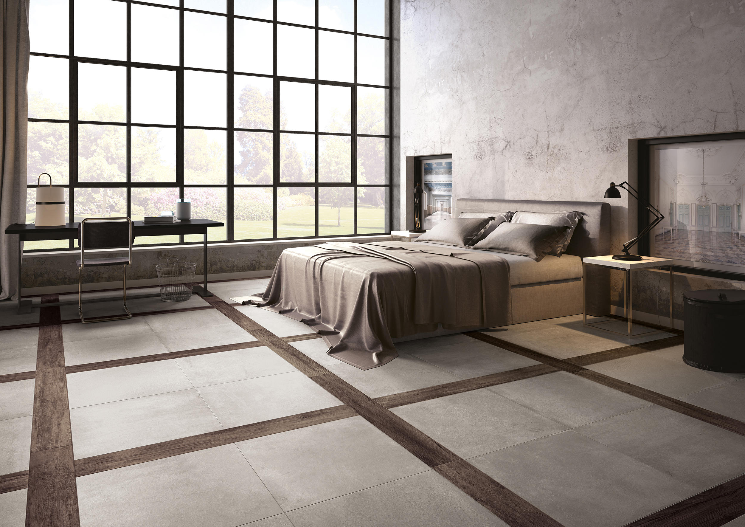 Carnaby ivory floor tiles from ceramiche supergres for Carrelage 75x75
