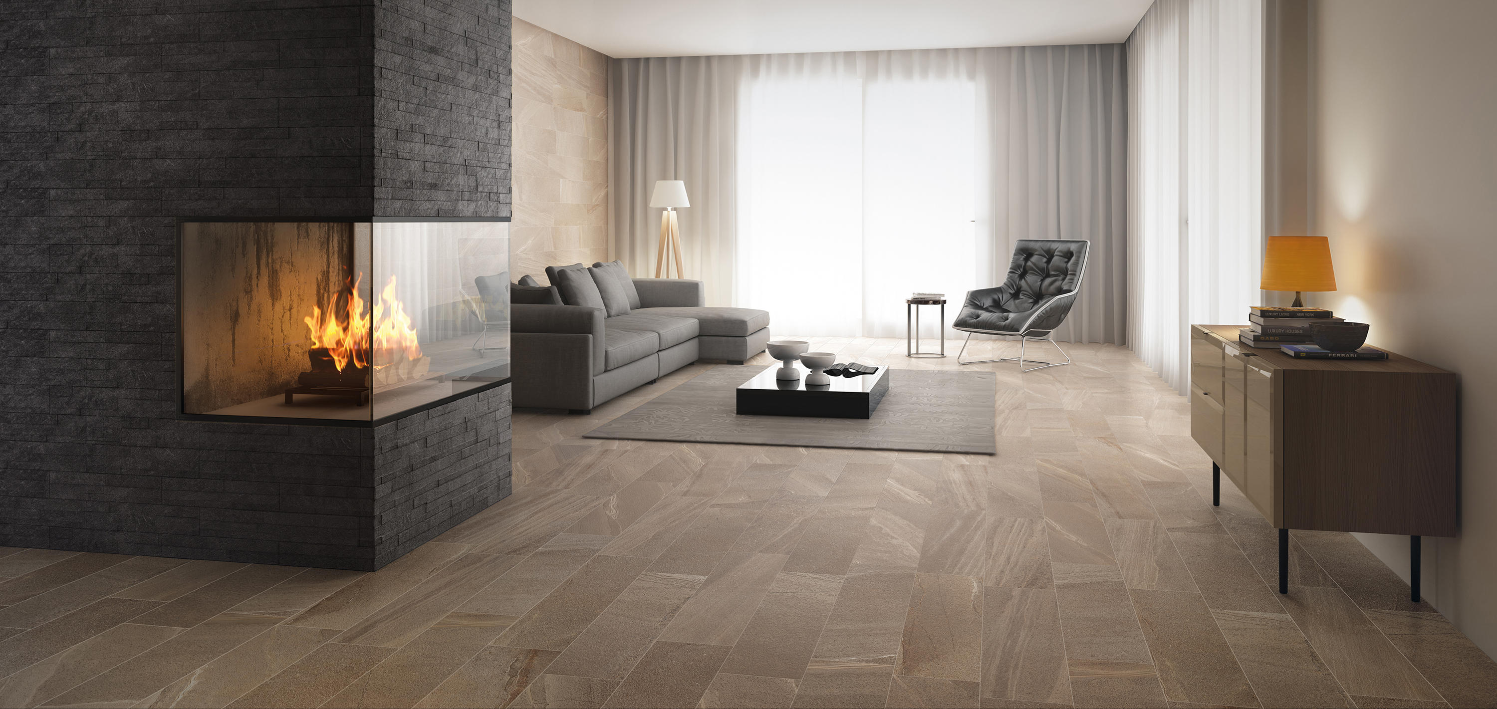 lake black floor tiles from ceramiche supergres architonic. Black Bedroom Furniture Sets. Home Design Ideas