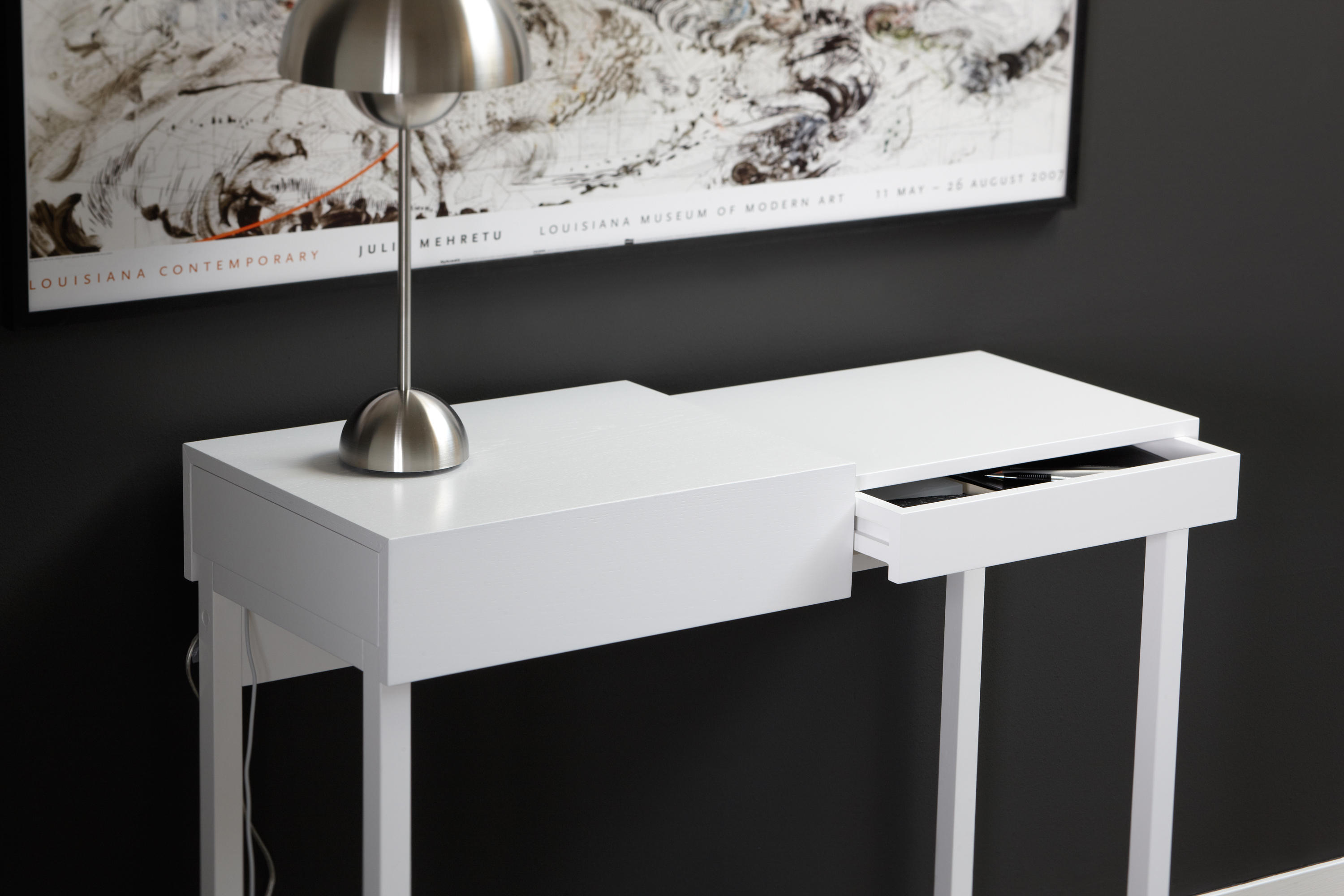 Do It Yourself Home Design: HIDDEN LAPTOP TABLE - Desks From A2 Designers AB
