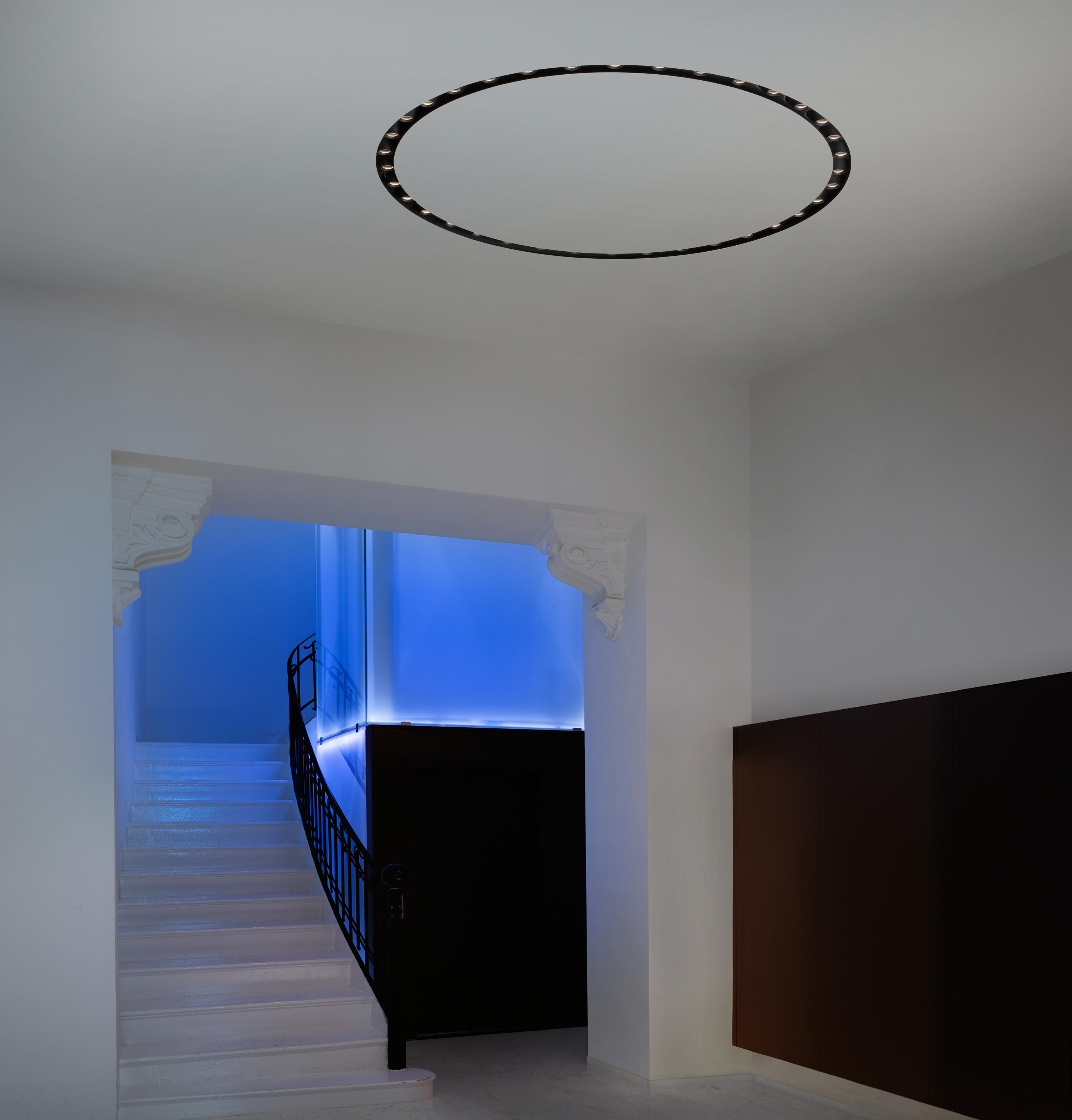 Circle Of Light Soft Plate 300 Mm Led Recessed Ceiling