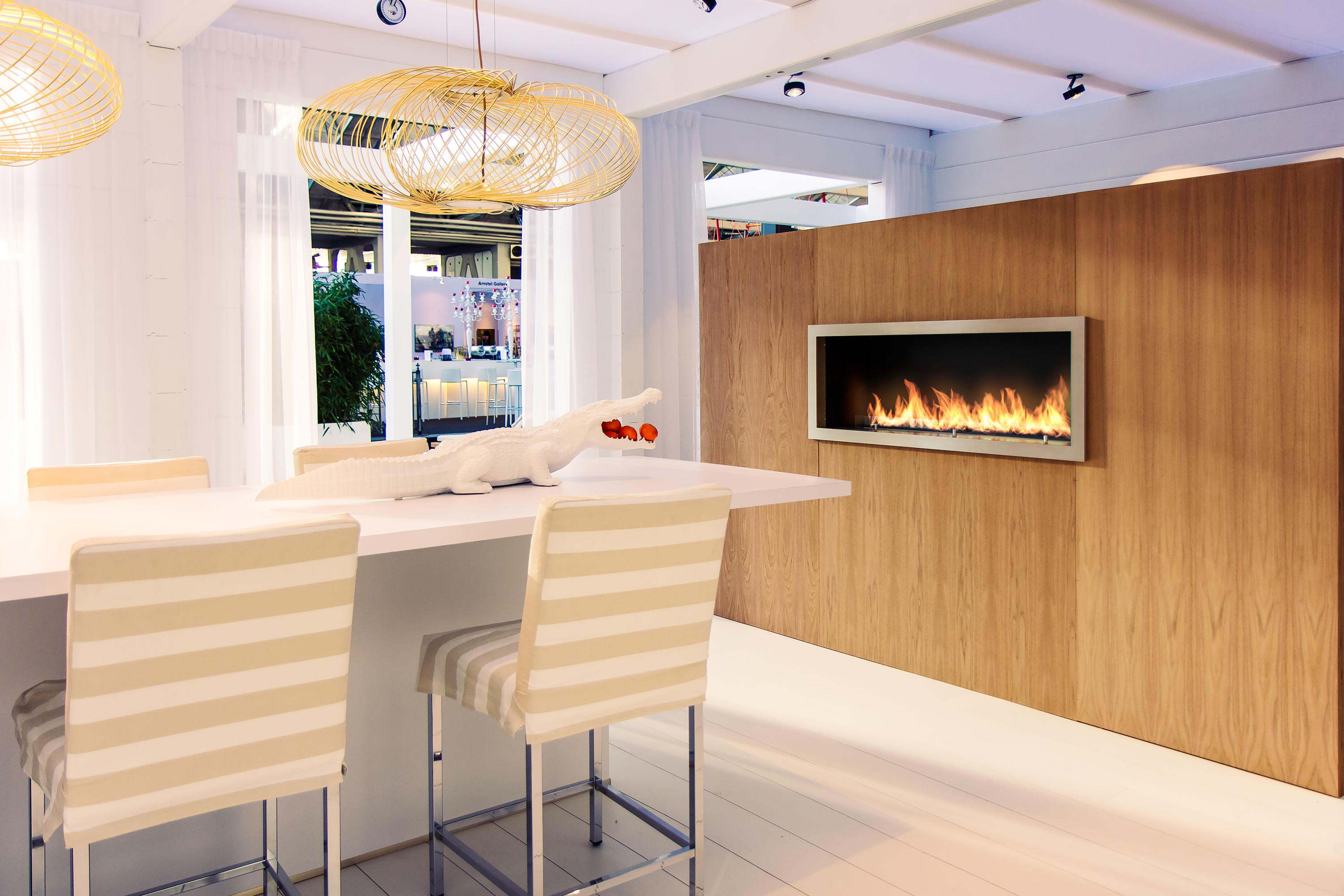 Fire Line Automatic 3 Fireplace Inserts From Planika