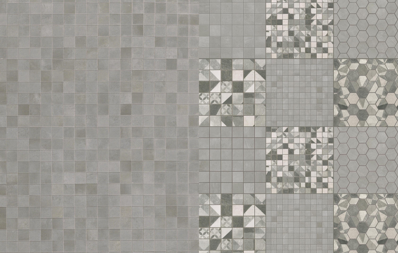 Archivio illustrazioni viola ferro esagonale texture