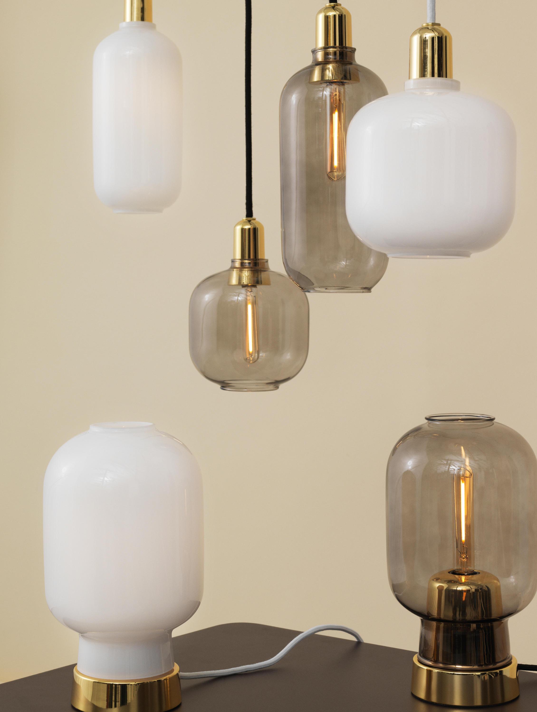 amp lamp large suspended lights from normann copenhagen. Black Bedroom Furniture Sets. Home Design Ideas