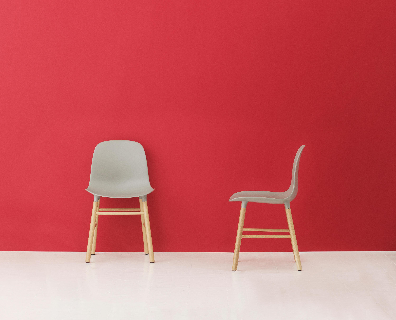 Normann Copenhagen Stoel : Stoel hout wit extraordinary normann copenhagen knot chair stoel