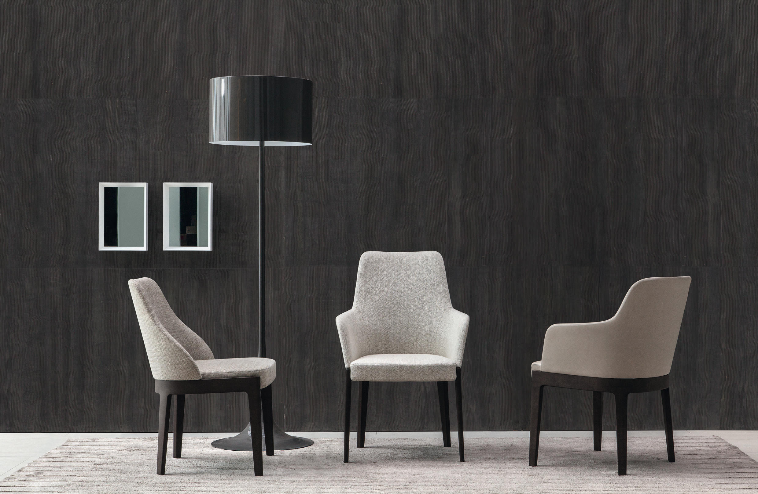 Elegant Dining Chairs With Arms