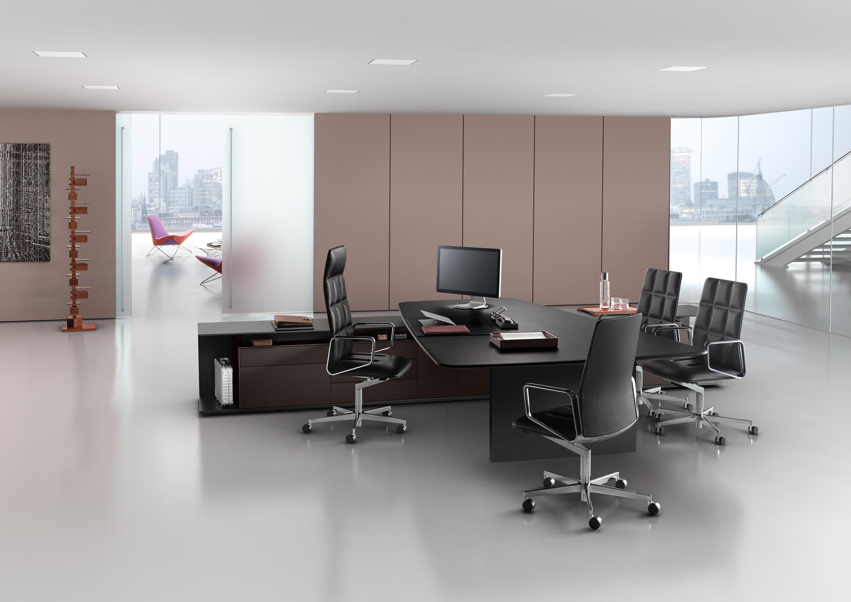 keypiece communication desk direktionstische von walter. Black Bedroom Furniture Sets. Home Design Ideas