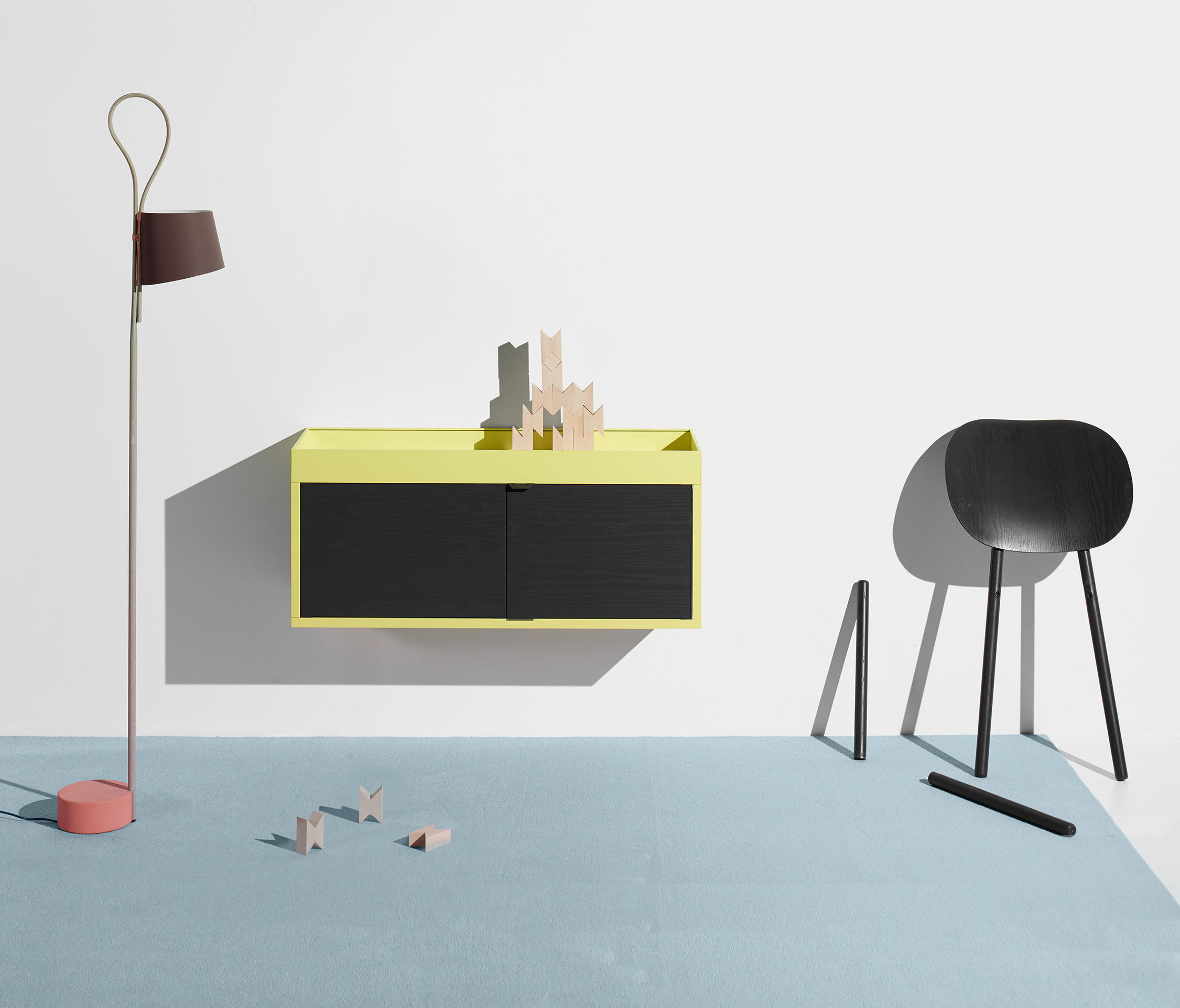 ... New Order Home Vertical Open Shelf By Hay