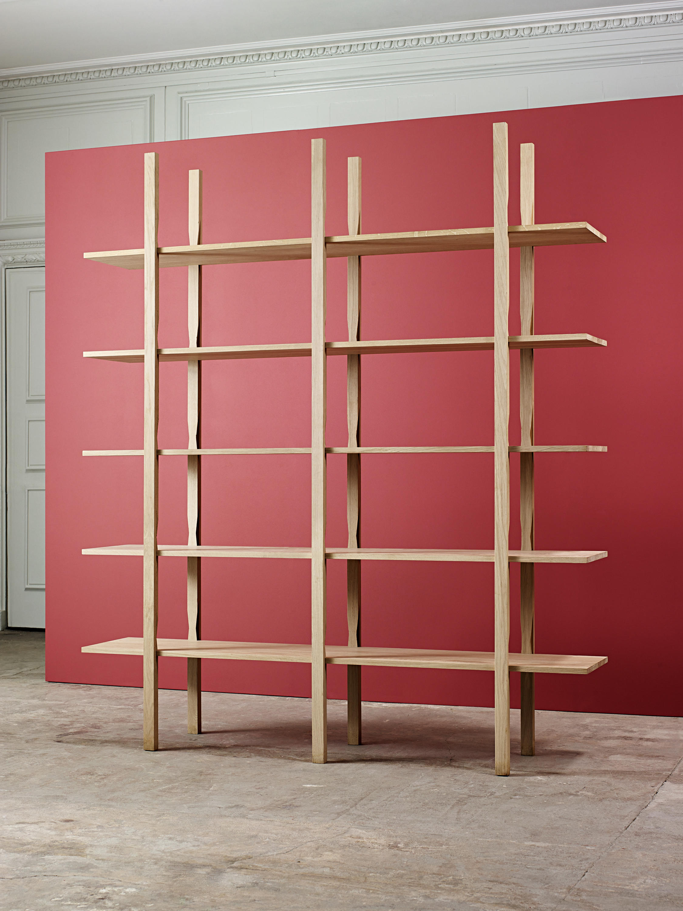 The wooden shelf shelving from hay architonic for Hay design outlet
