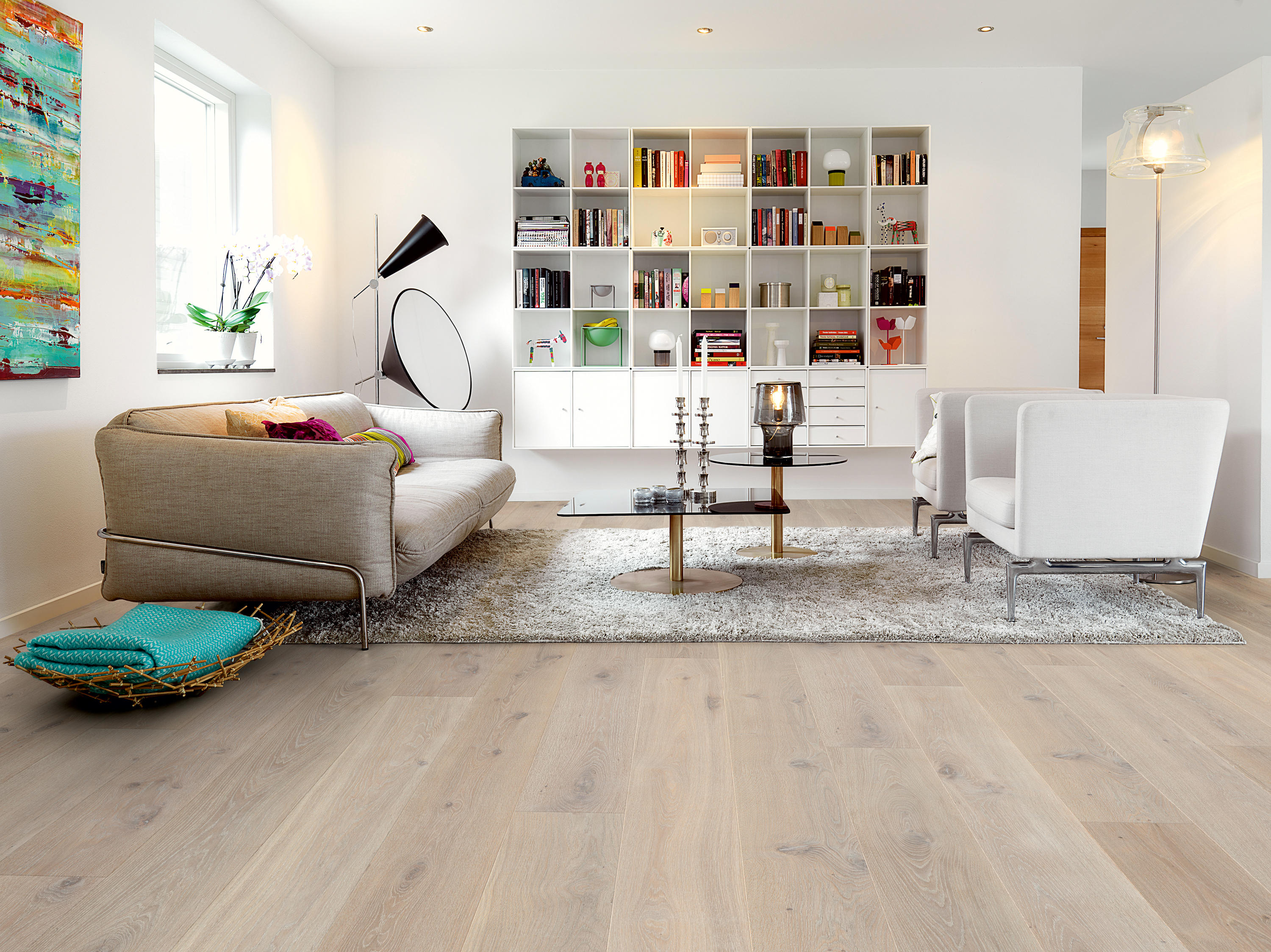Svalbard Chalked Oyster Oak Wood Flooring From Pergo