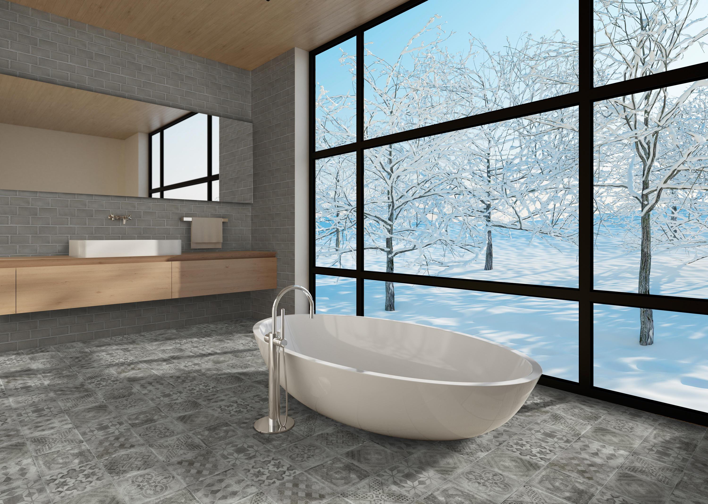 BETONBRICK WALL WHITE GLOSSY - Ceramic tiles from TERRATINTA GROUP ...