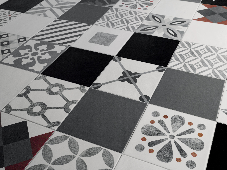 Cementine comp optical keramik fliesen von valmori ceramica design