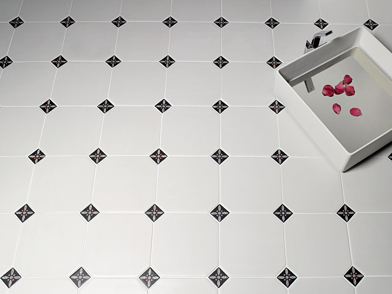 Le crete hexagon terra bianca piastrelle ceramica valmori