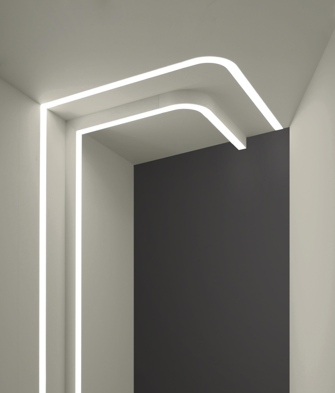 ledline 25 wall lights from eden design architonic. Black Bedroom Furniture Sets. Home Design Ideas