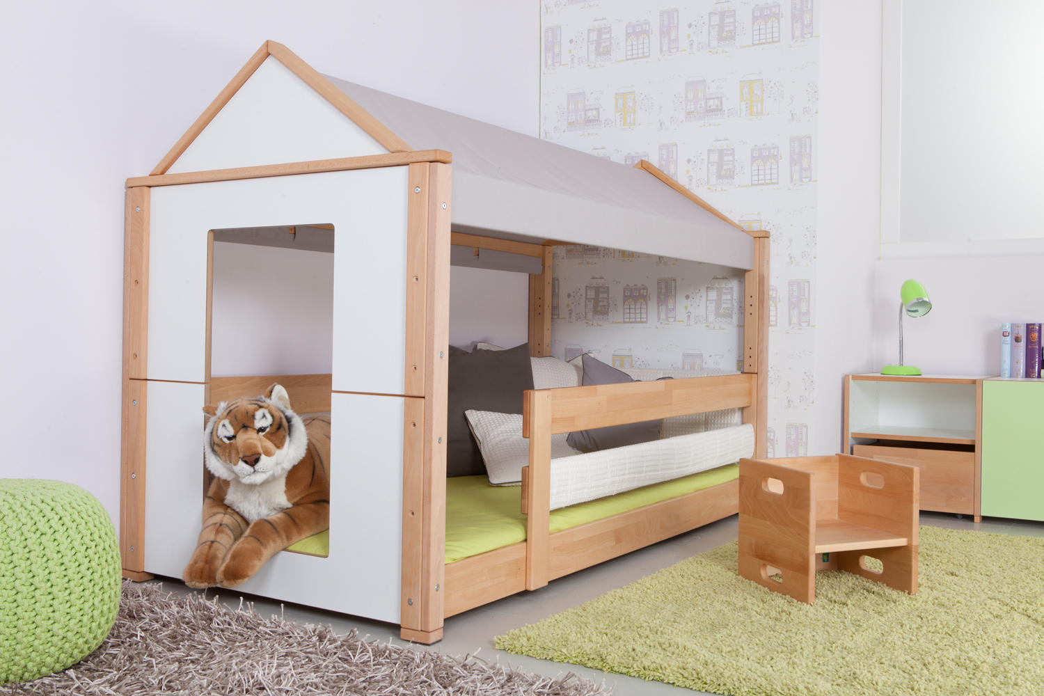 Spielbett  CITY HIGH PLAY BED - Infant's beds from De Breuyn | Architonic