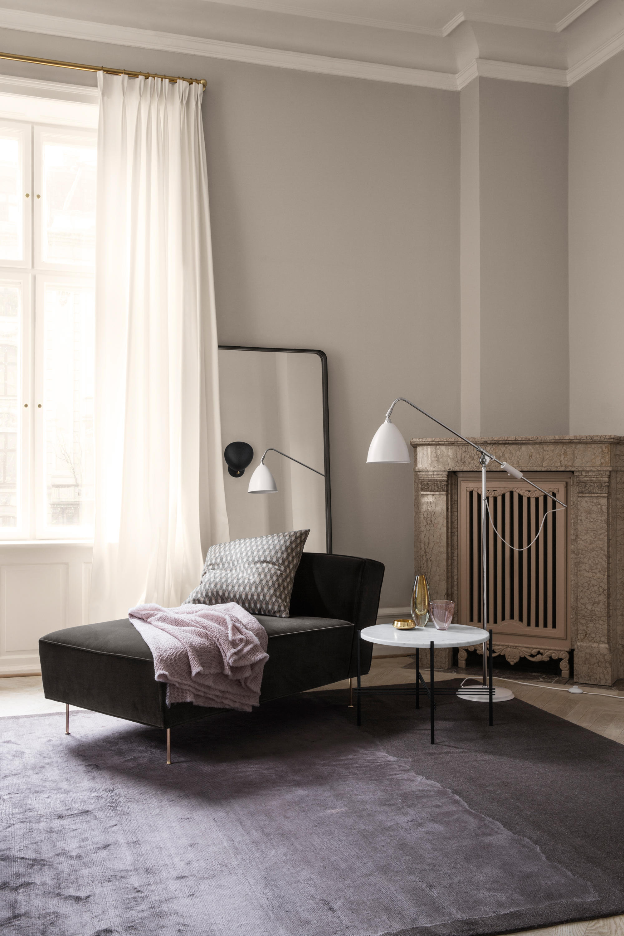 Modern Line Sofa Lounge Sofas From Gubi Architonic