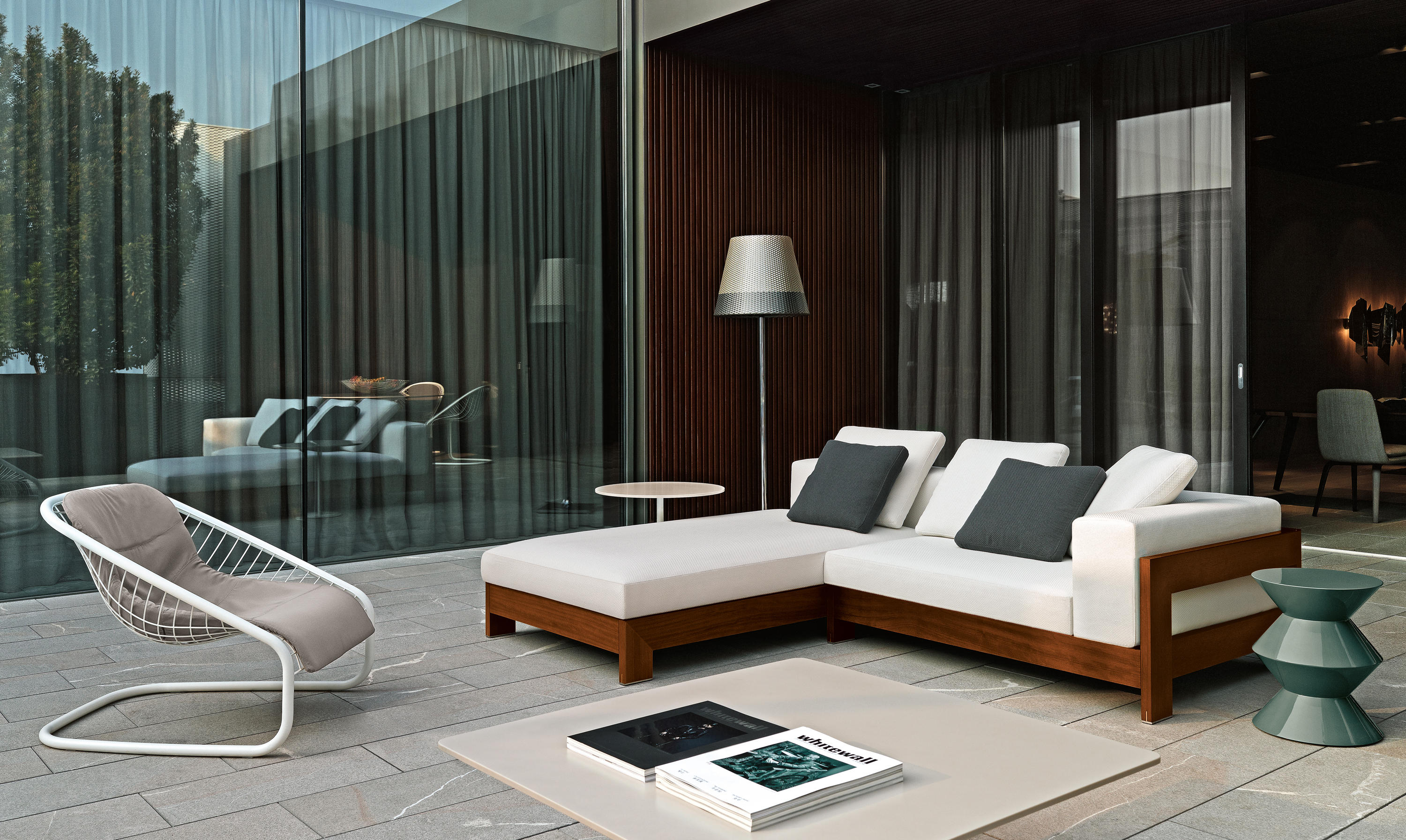Alison Quot Dark Brown Quot Outdoor Sofas From Minotti Architonic