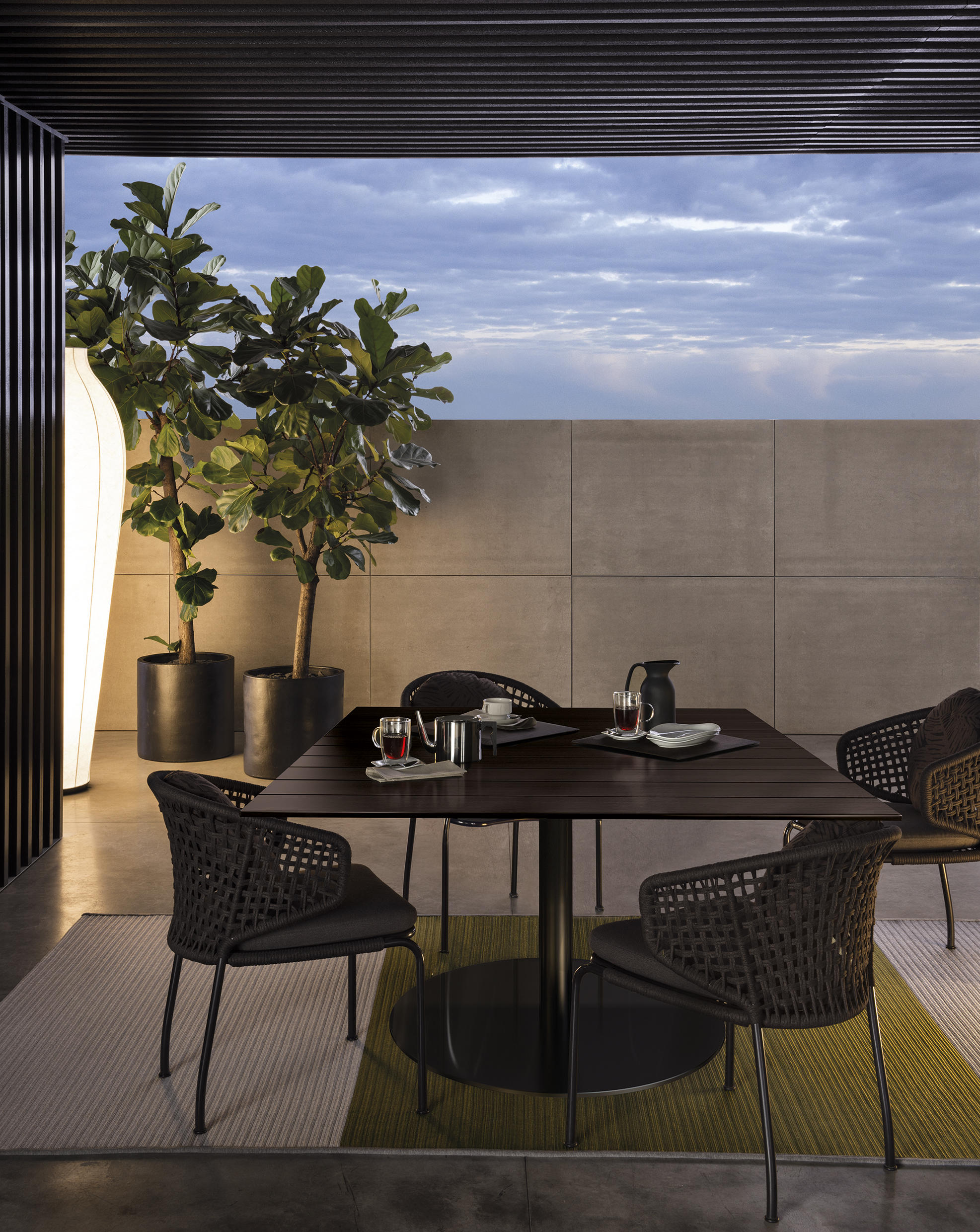 minotti outdoor furniture. Bellagio Outdoor Lounge H61 By Minotti Furniture