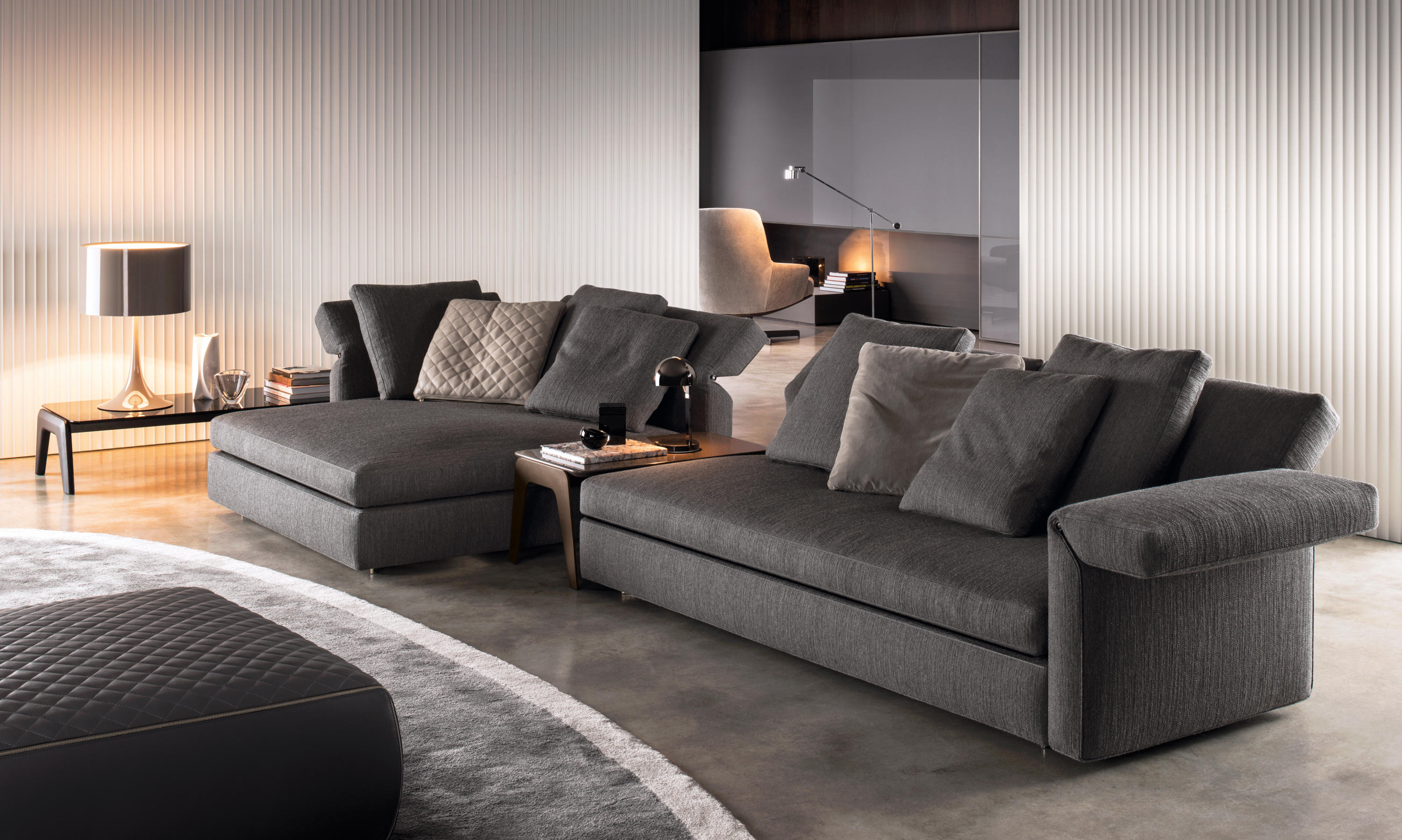 Collar lounge sofas from minotti architonic for Sofa gebraucht
