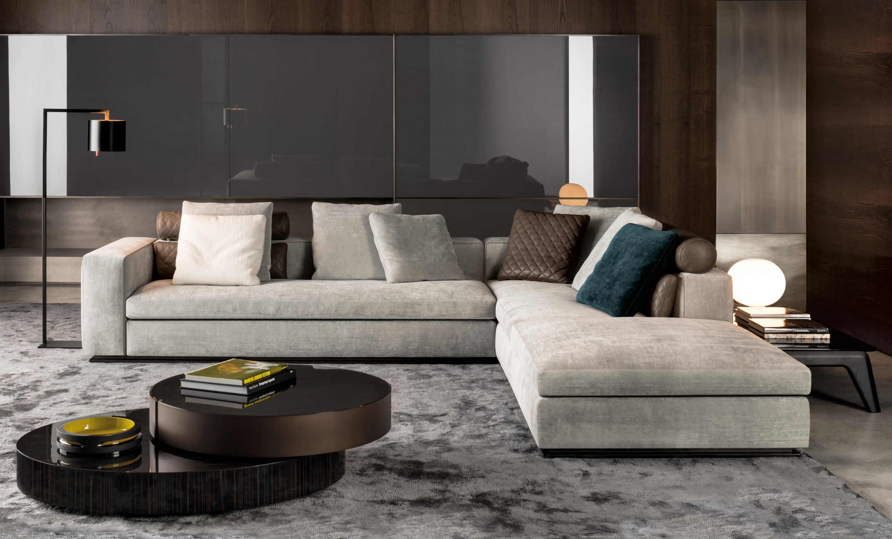 leonard lounge sofas from minotti architonic. Black Bedroom Furniture Sets. Home Design Ideas
