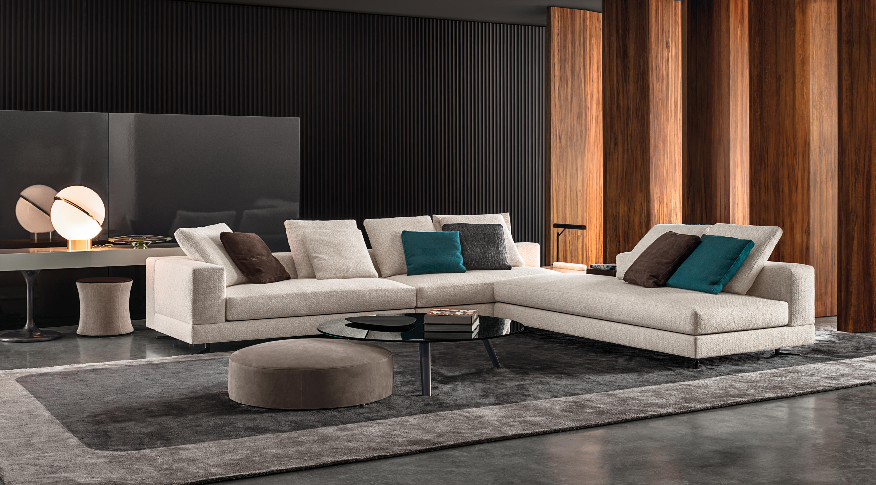 White sofas from minotti architonic for Minotti divani