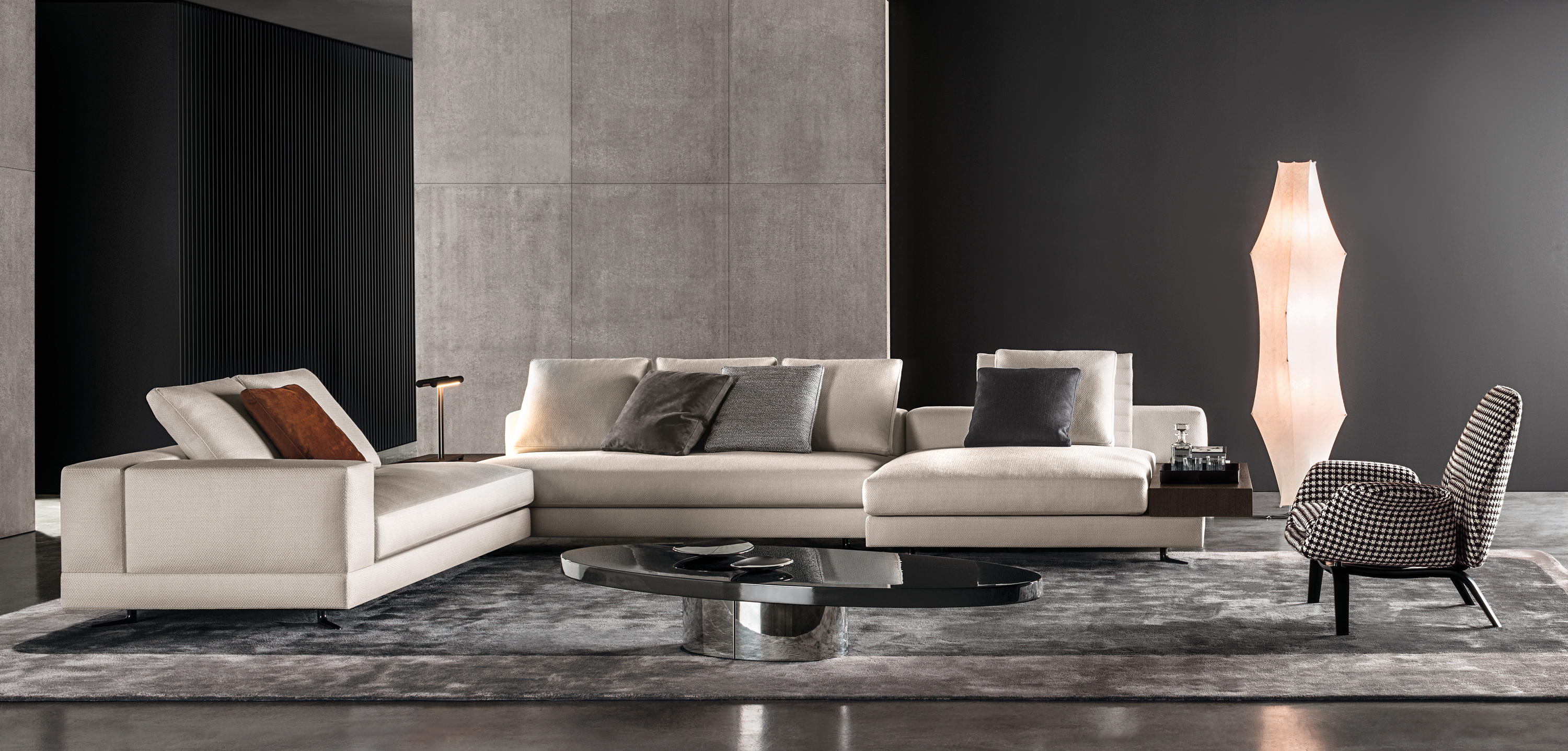 Fine White Sofas From Minotti Architonic Caraccident5 Cool Chair Designs And Ideas Caraccident5Info