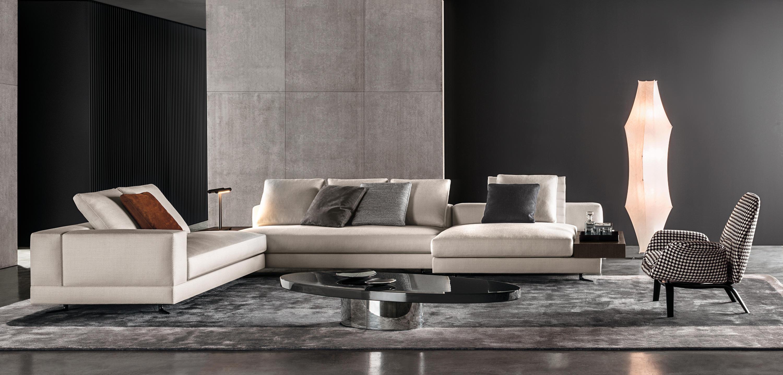White Lounge Sofas From Minotti Architonic
