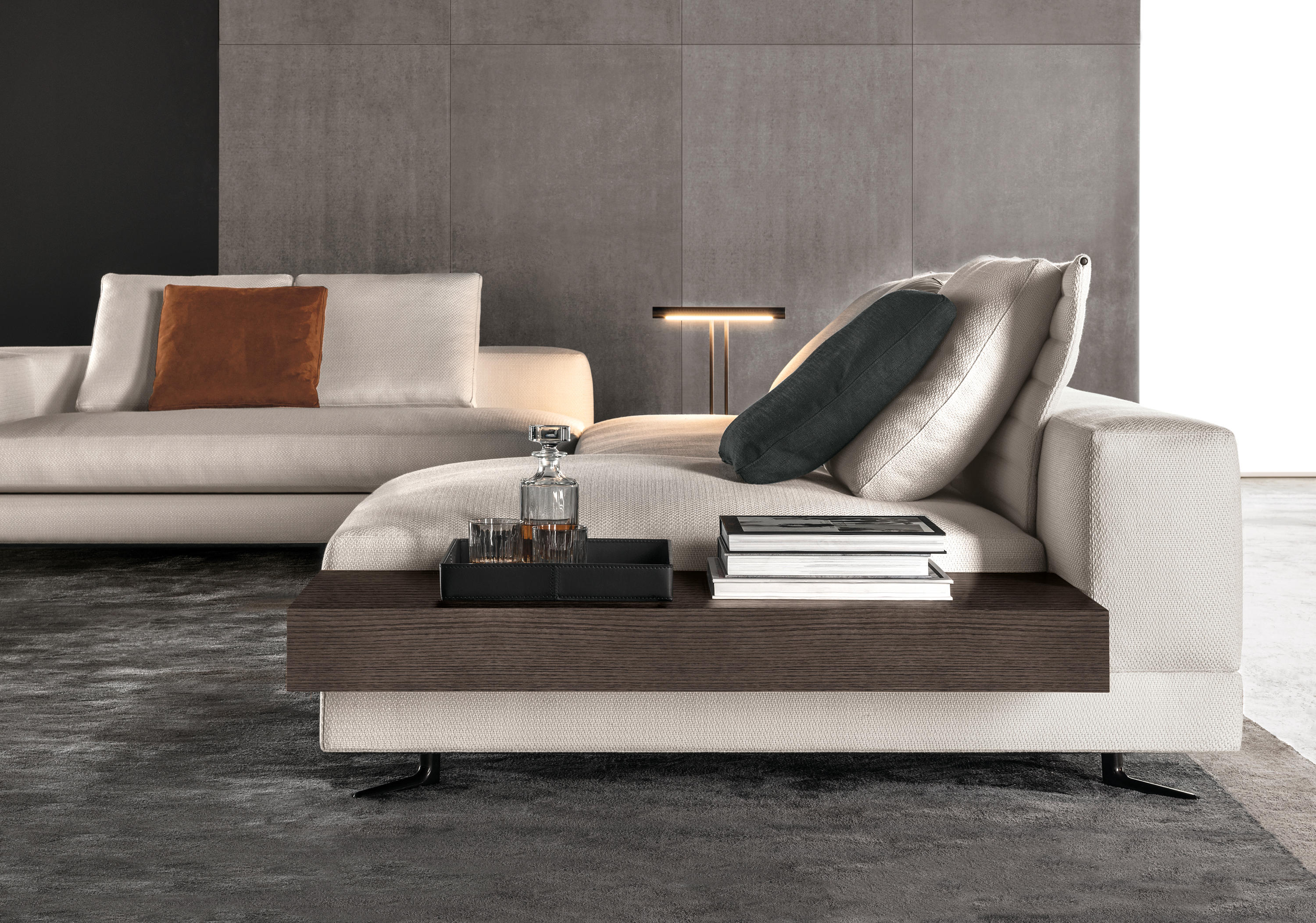 white lounge sofas from minotti architonic. Black Bedroom Furniture Sets. Home Design Ideas