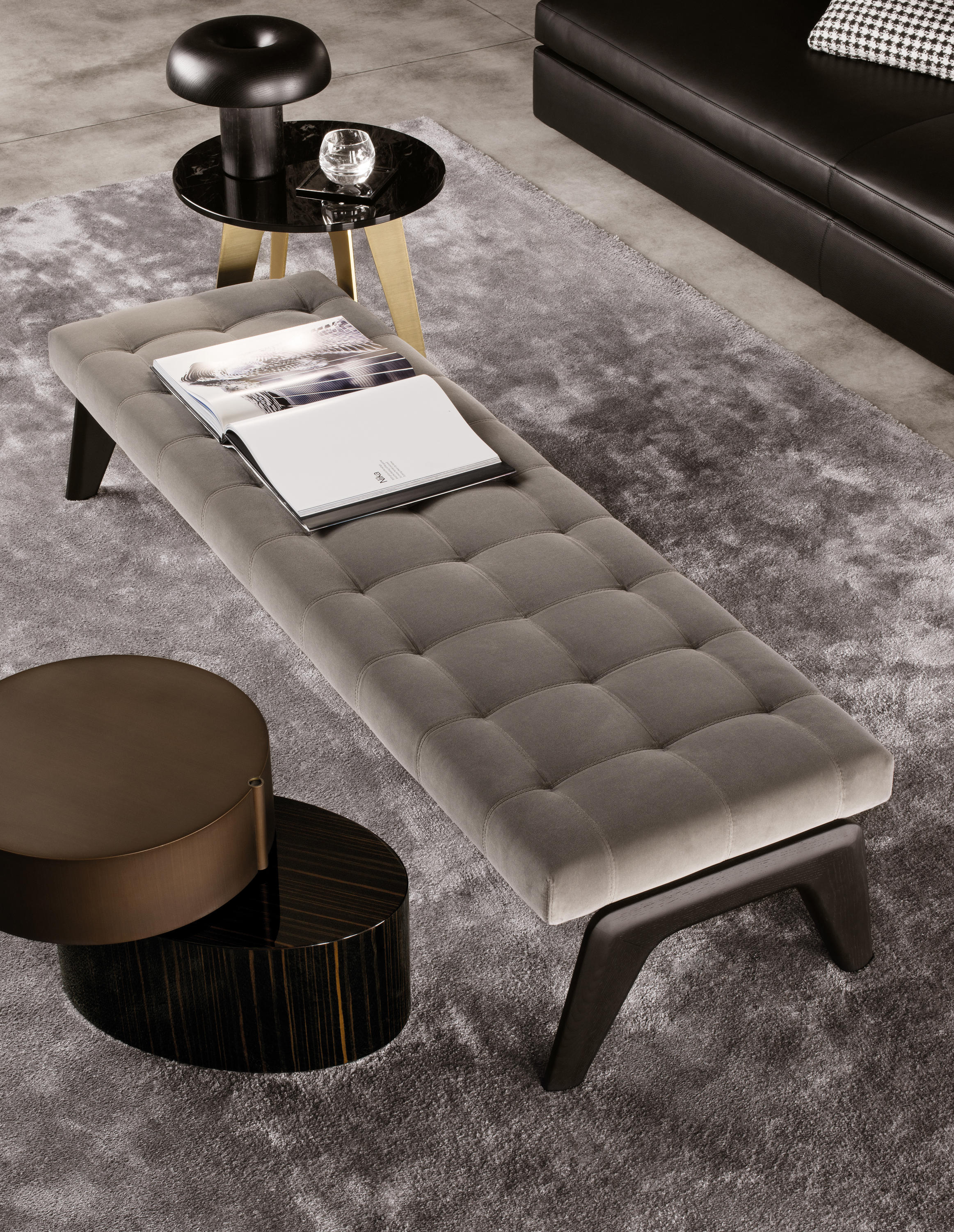 Kirk Bench Benches From Minotti Architonic