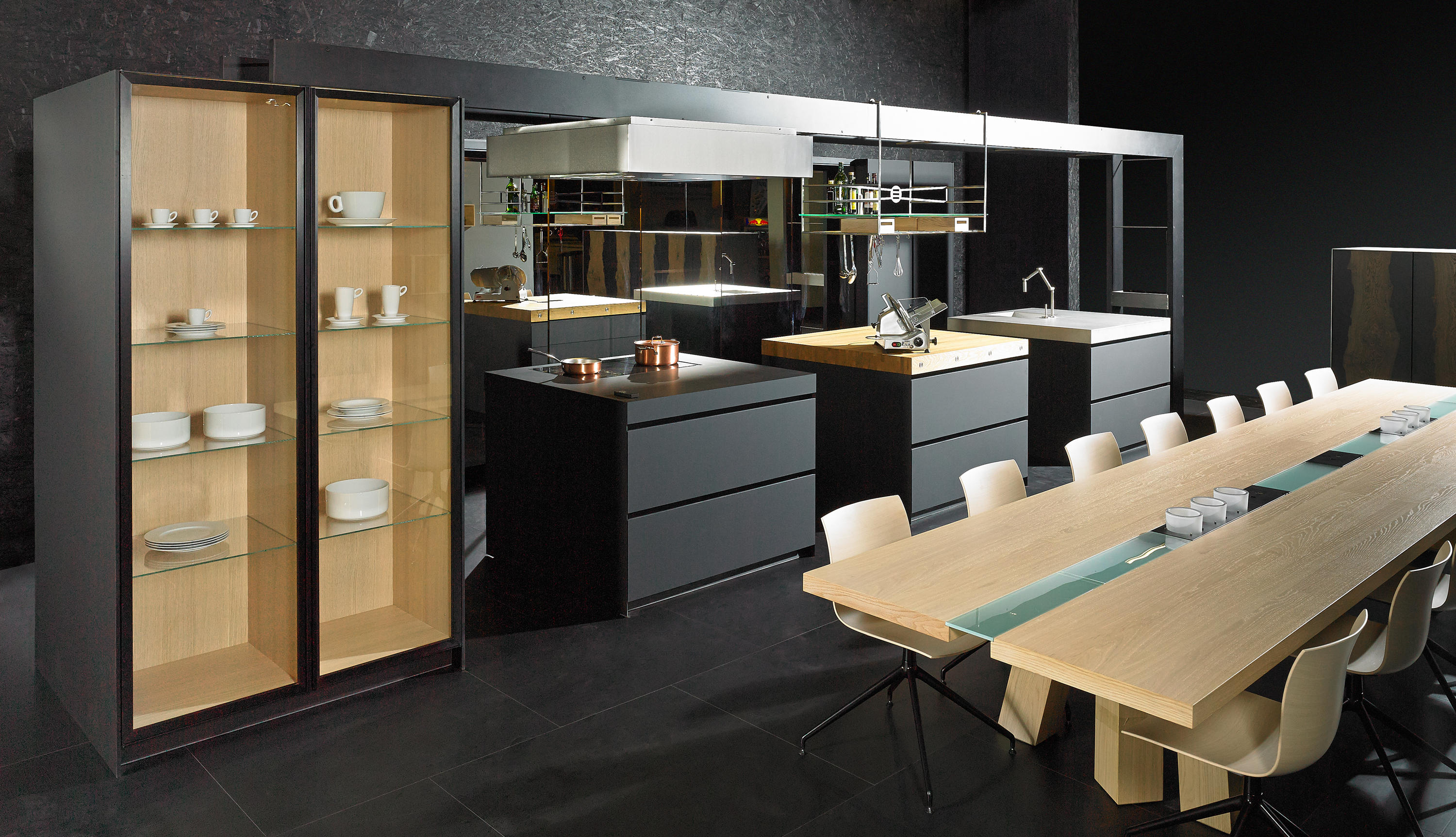work s fitted kitchens from eggersmann architonic. Black Bedroom Furniture Sets. Home Design Ideas