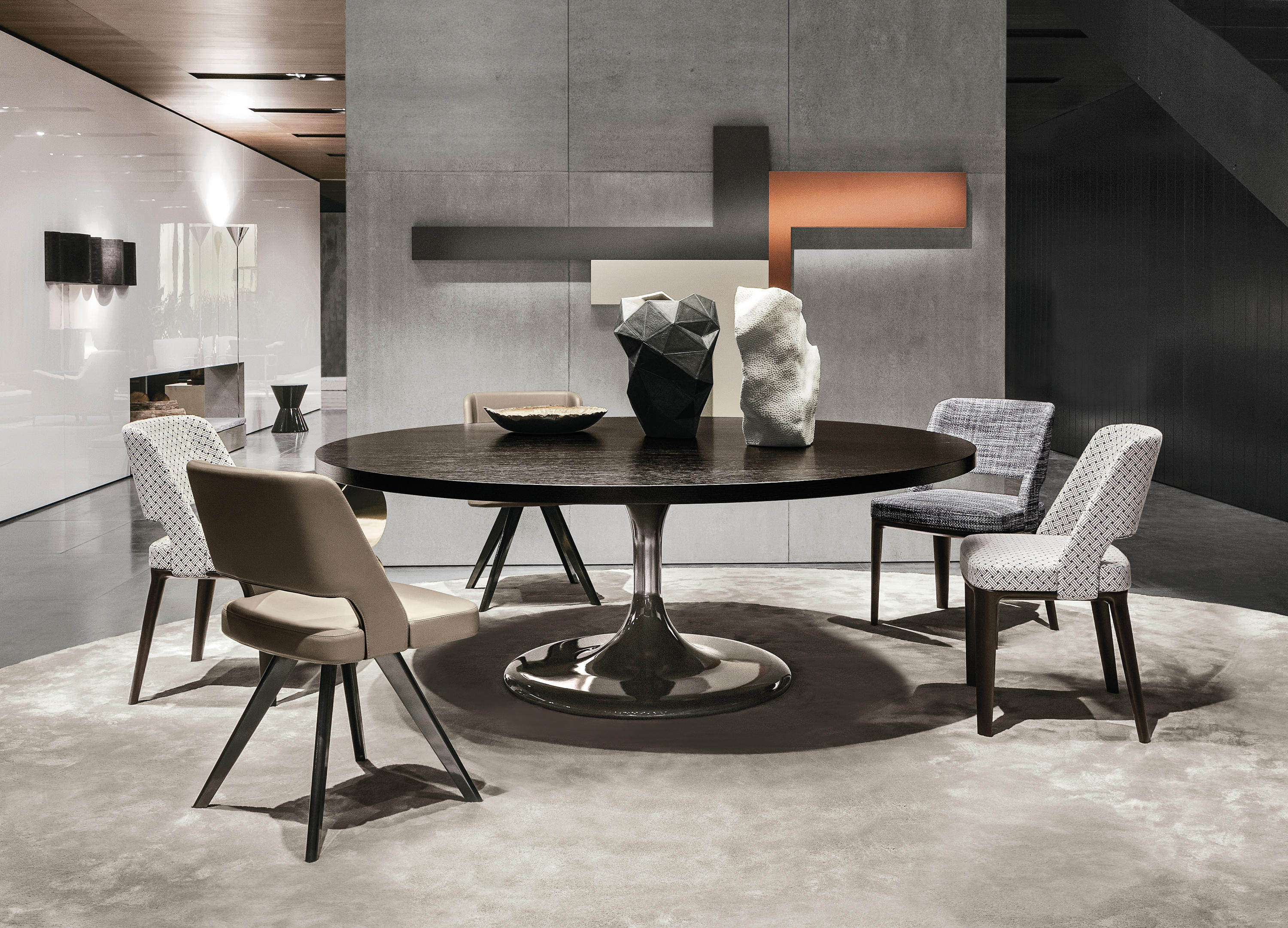 Neto Table Dining Tables From Minotti Architonic