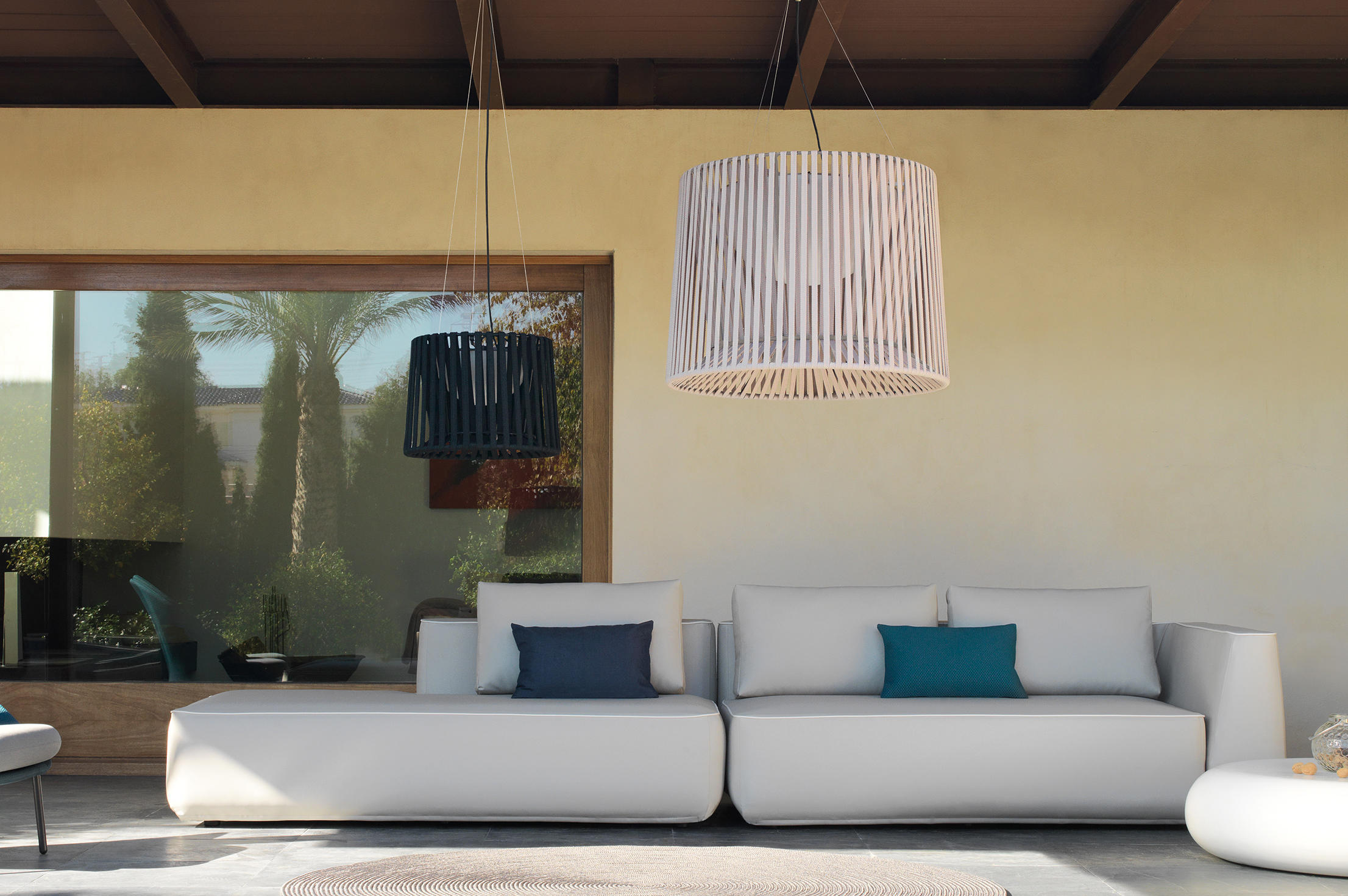 Oh Lamp Hand Woven Table Lamp Outdoor Table Lights