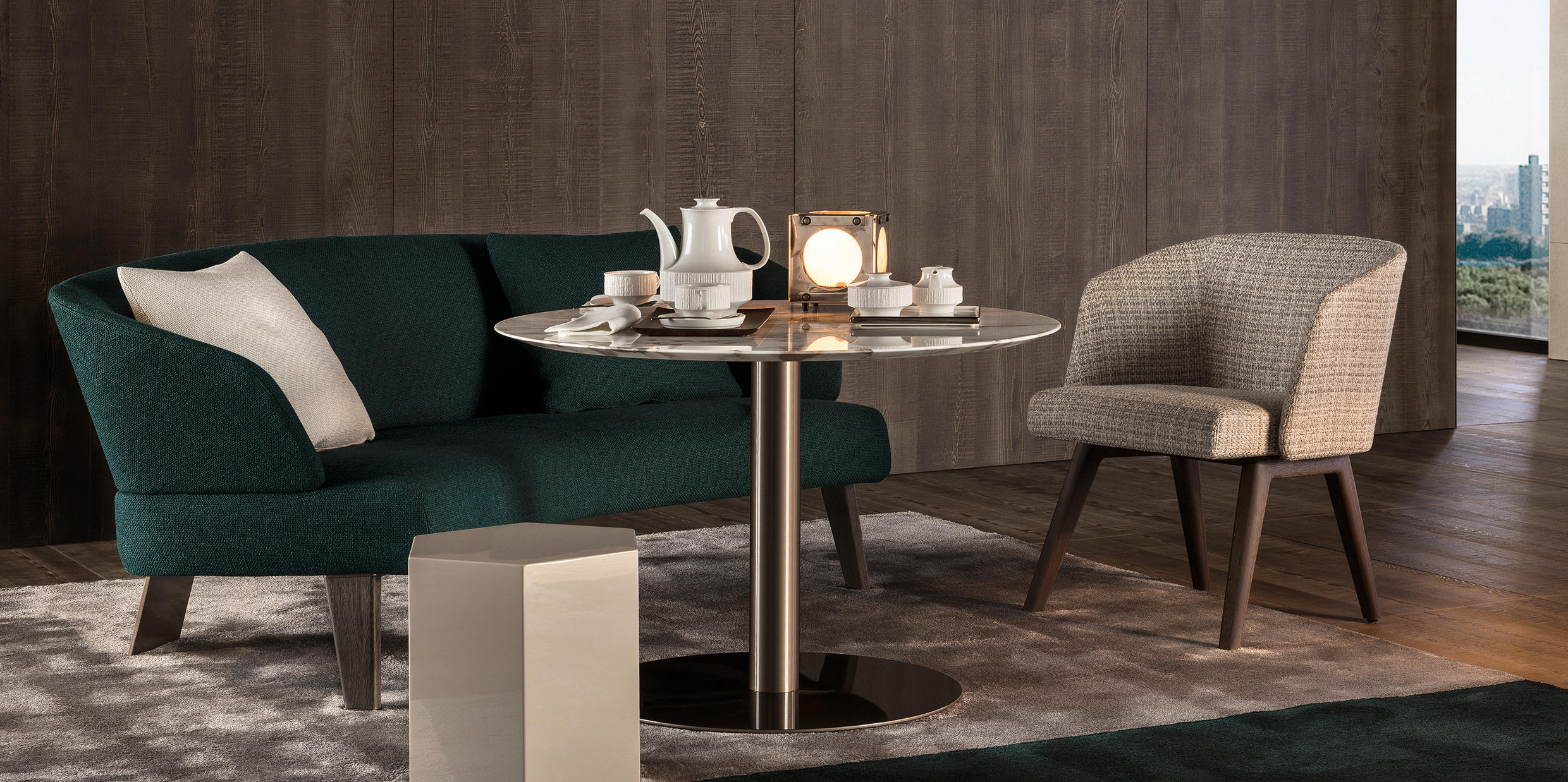 Bellagio Lounge Side Tables From Minotti Architonic