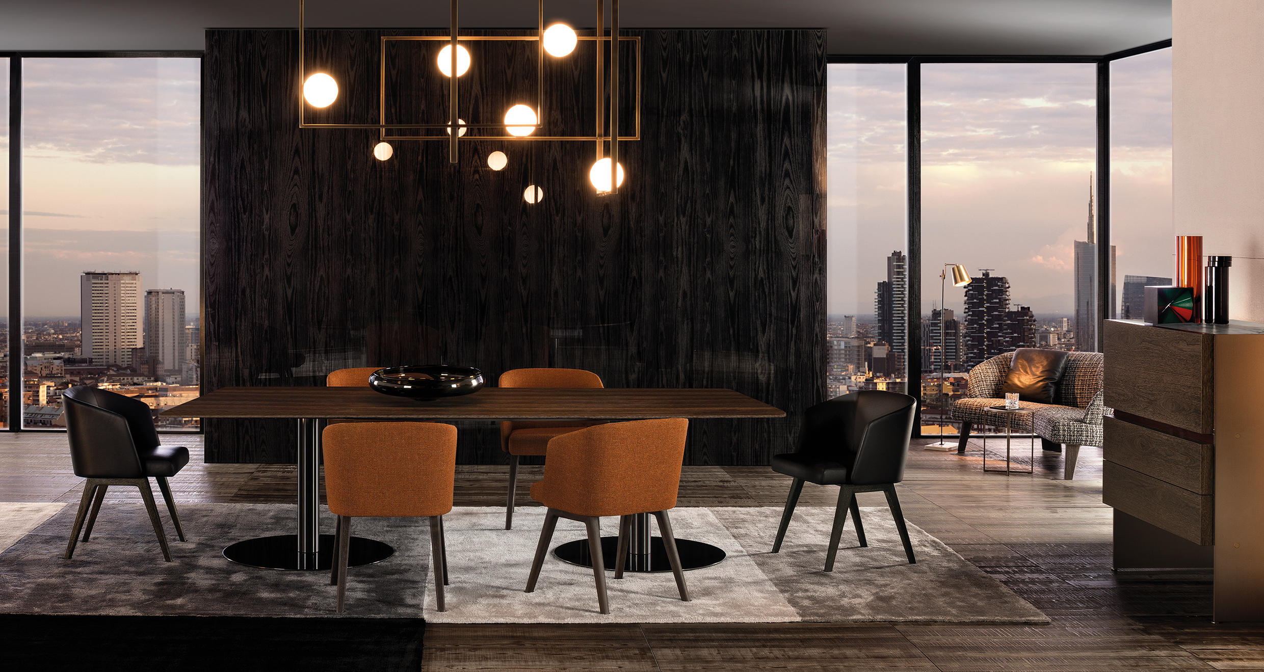 Bellagio Bistrot Dining Tables From Minotti Architonic