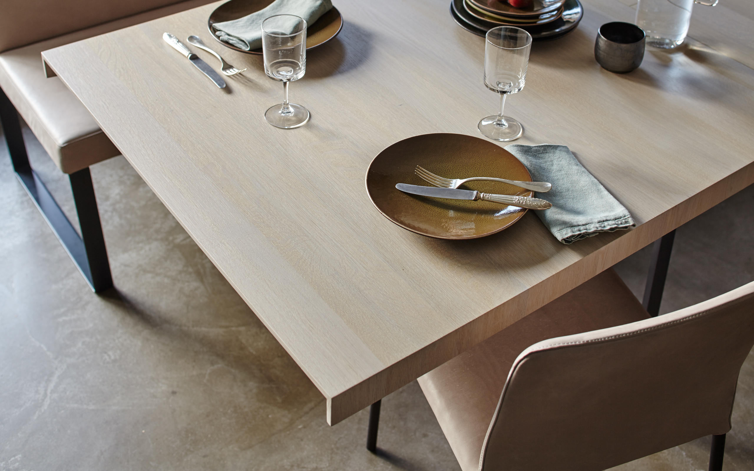 Tin Table Restaurant Tables From More Architonic