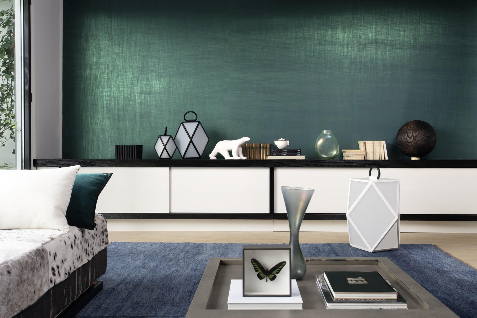 Luminescent vega rm 605 01 wall coverings wallpapers for Interieur architecture