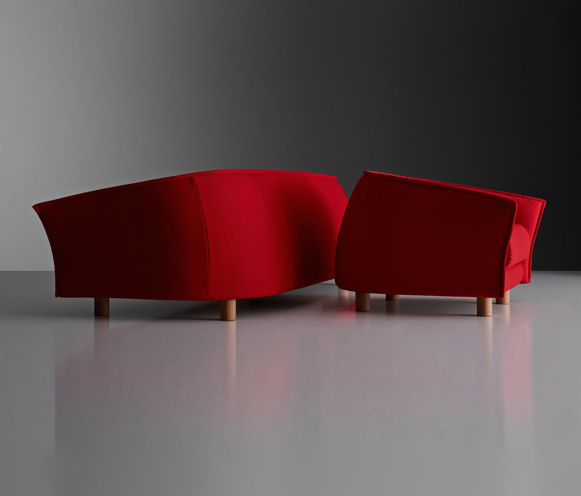 DIVA SOFA Canapés d'attente de Swedese Architonic