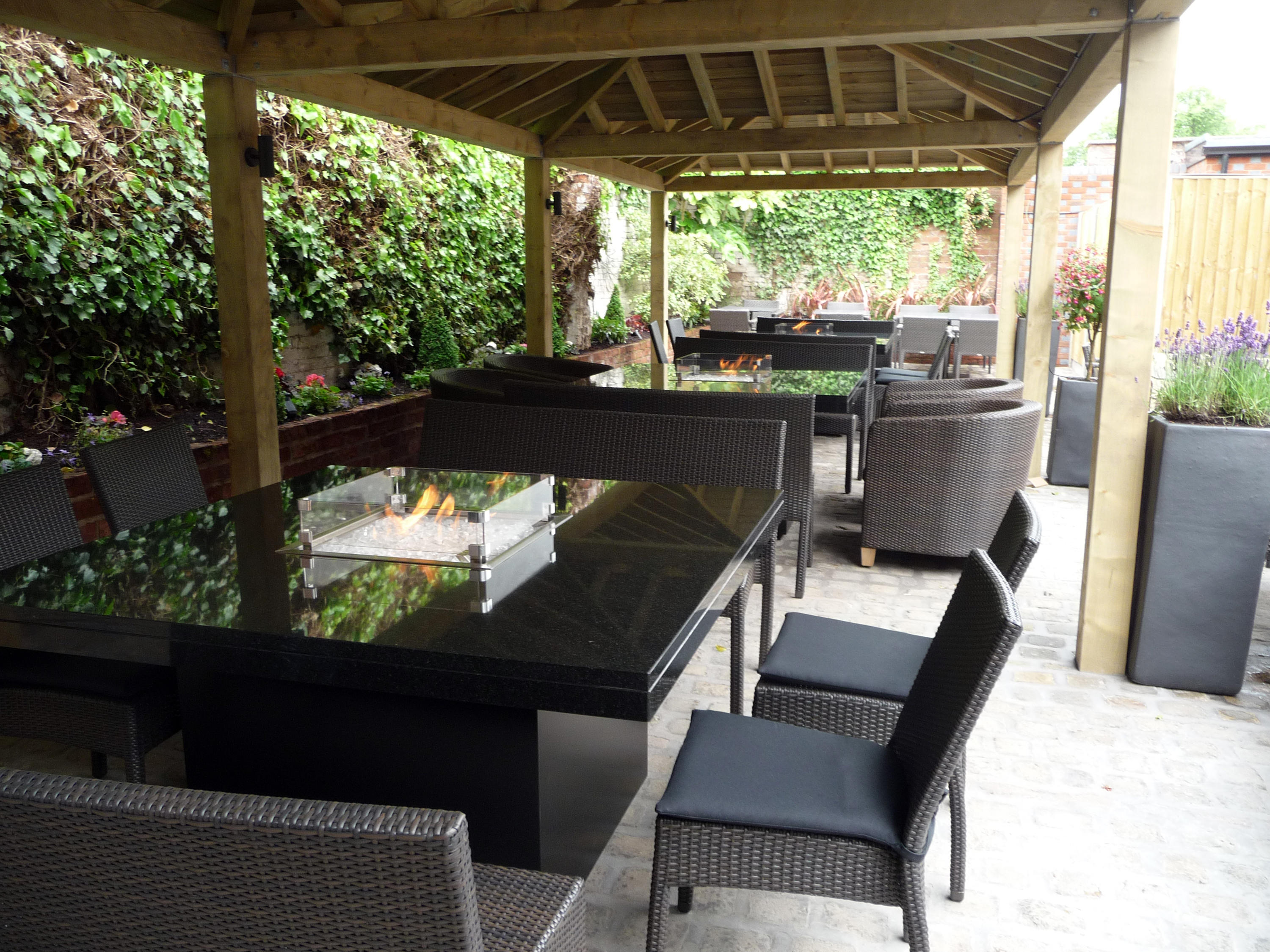milan gas fire table dining tables from rivelin architonic