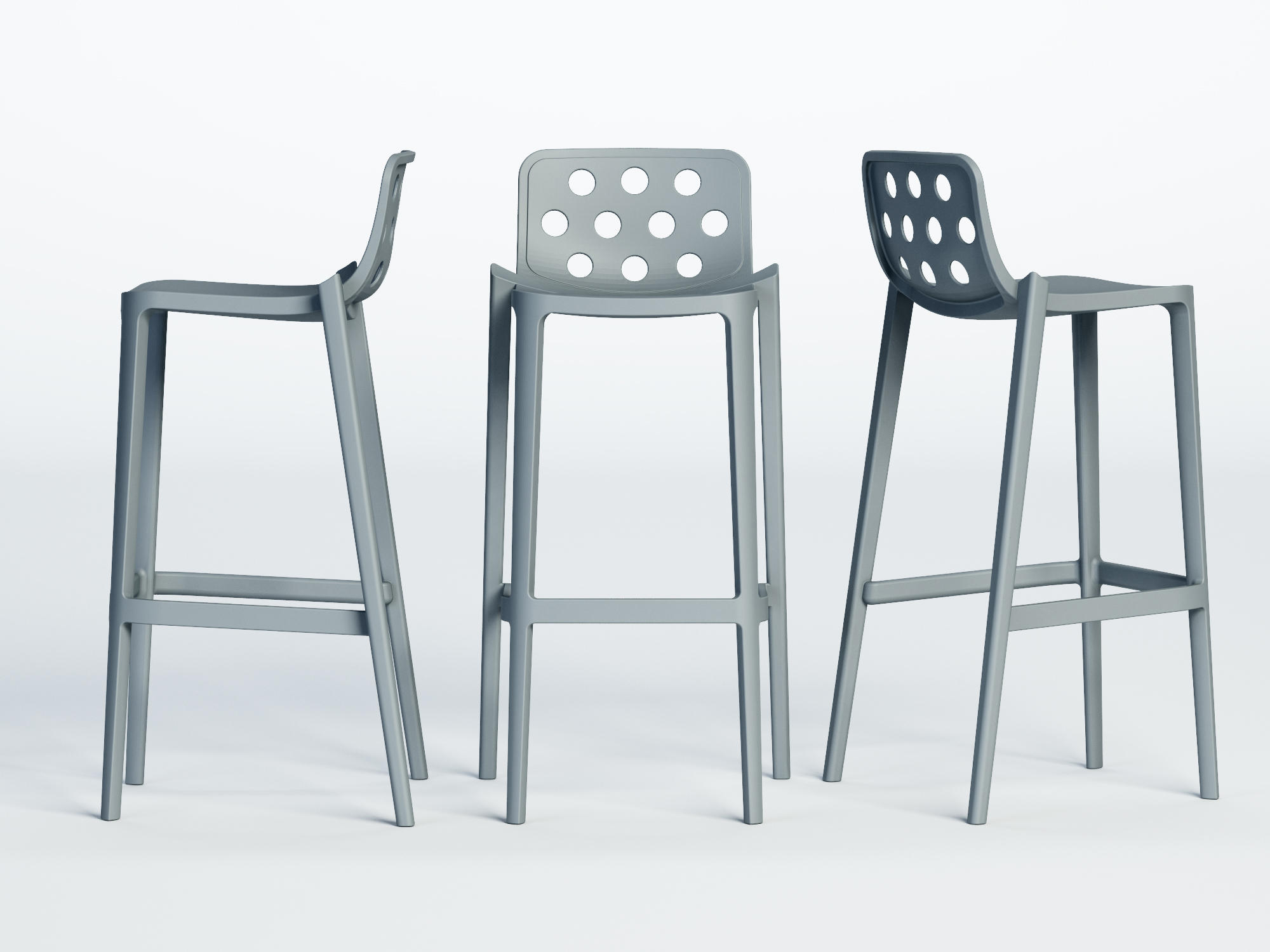 Isidoro Bar Stools From Gaber Architonic