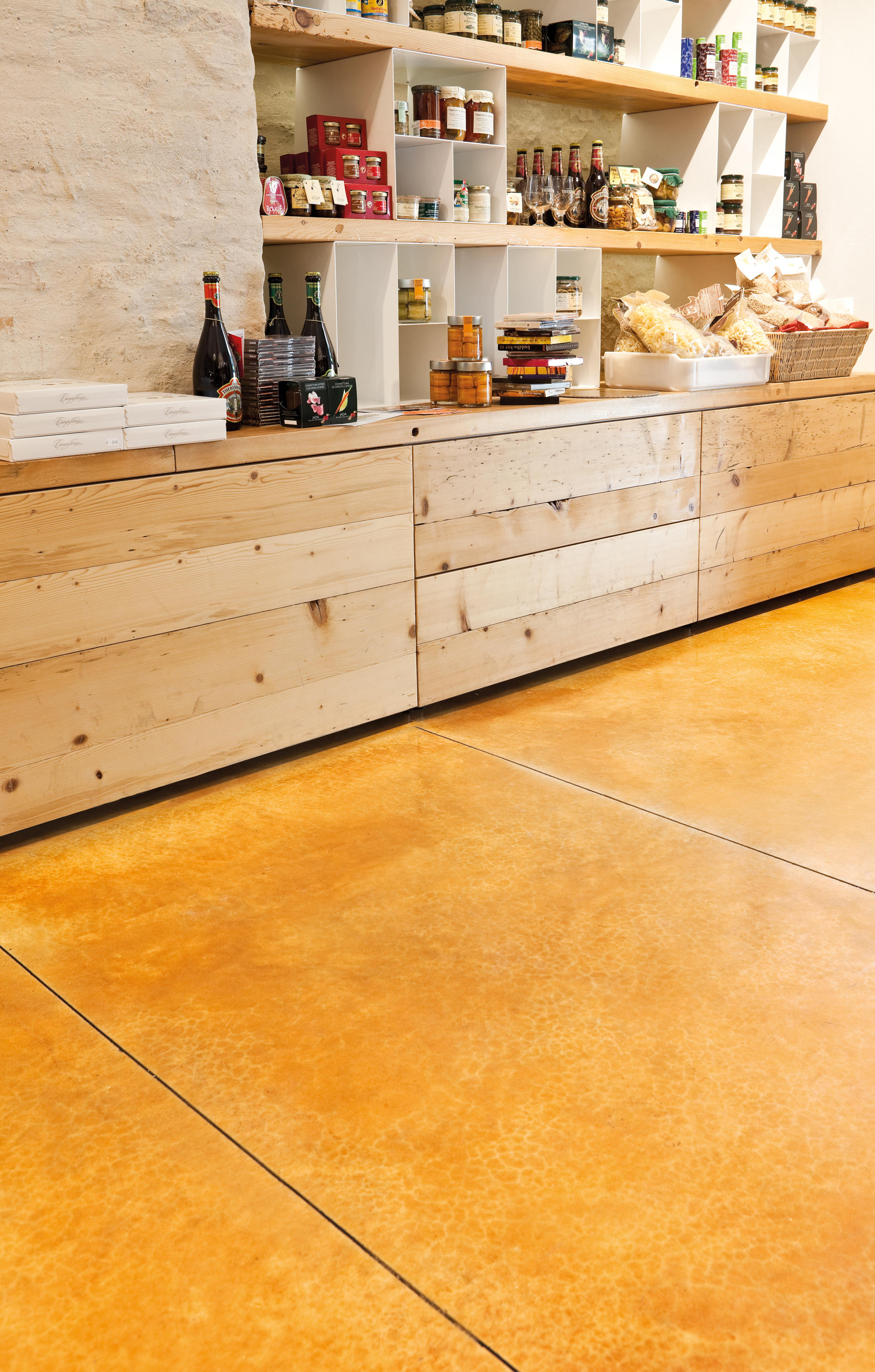 Acid Stain Amber From Ideal Work Architonic