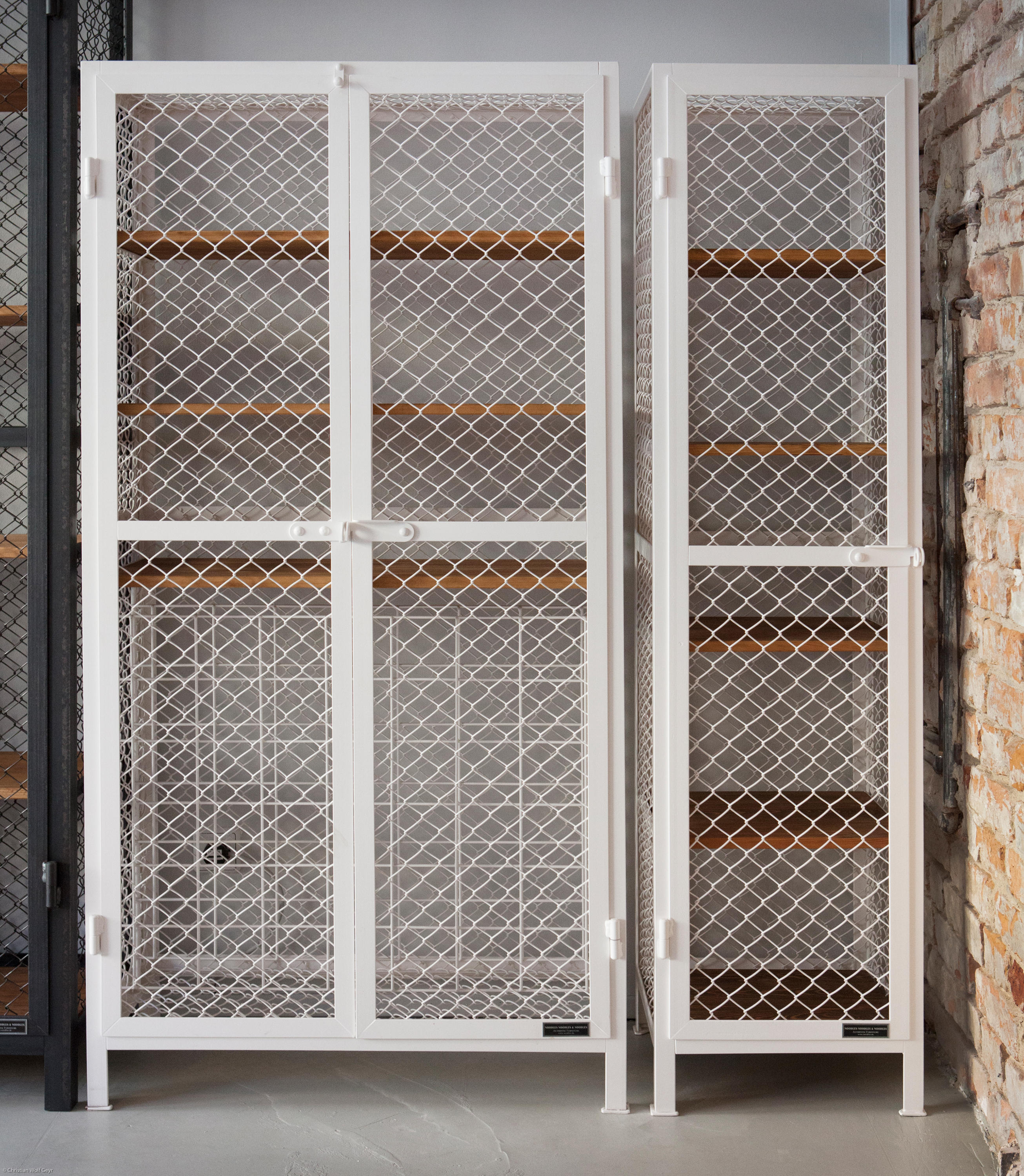 Wire Mesh For Cabinets Wine Cabinet 1 Wine Racks From Noodles Noodles Noodles Corp