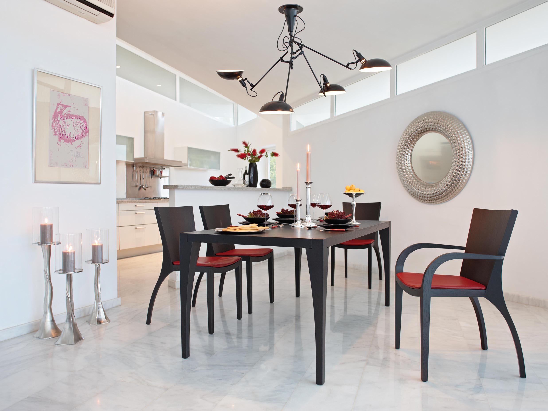 Milano stuhl restaurantst hle von lambert architonic for Design stuhl milano echtleder