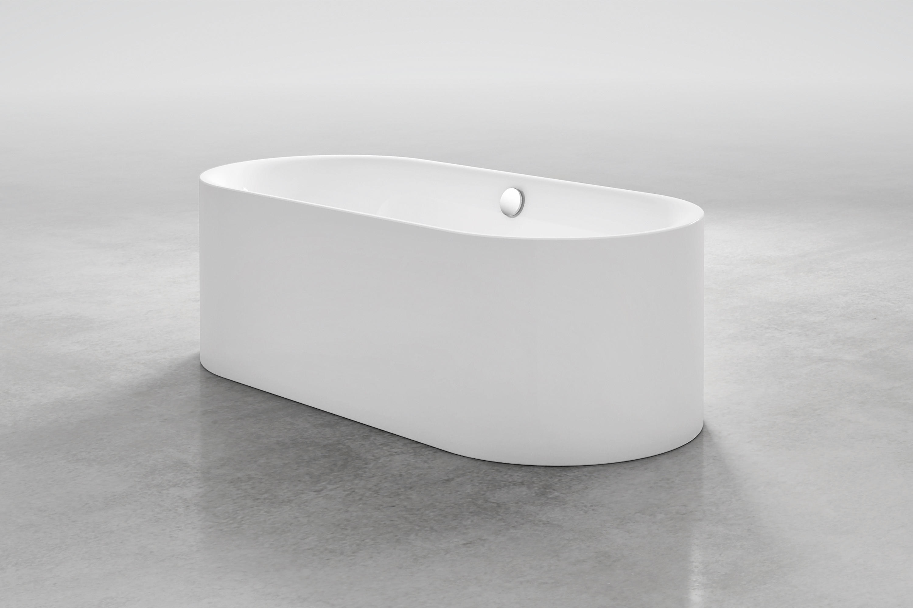 bettelux oval bath built in bathtubs from bette architonic. Black Bedroom Furniture Sets. Home Design Ideas