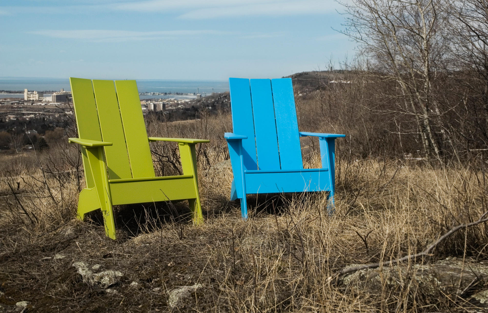 Adirondack 3 Slat Compact Armchairs From Loll Designs