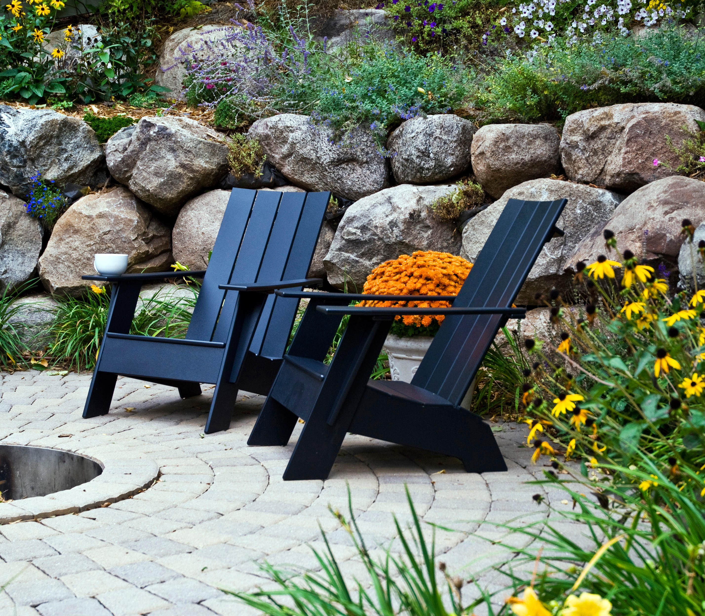Beautiful And Modern Outdoor Furniture Garden Ideas: Garden Armchairs From Loll