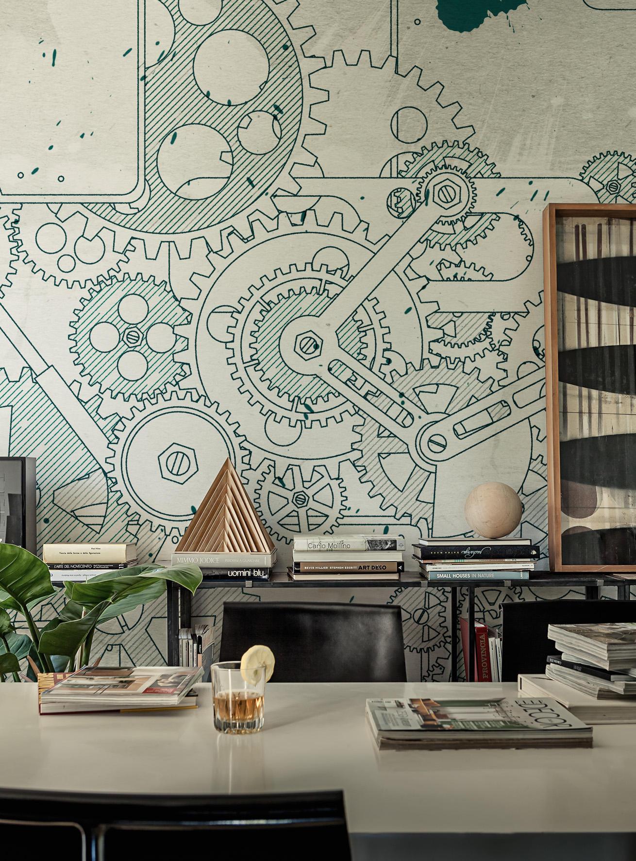 Steampunk Wandbelage Tapeten Von Wall Deco Architonic