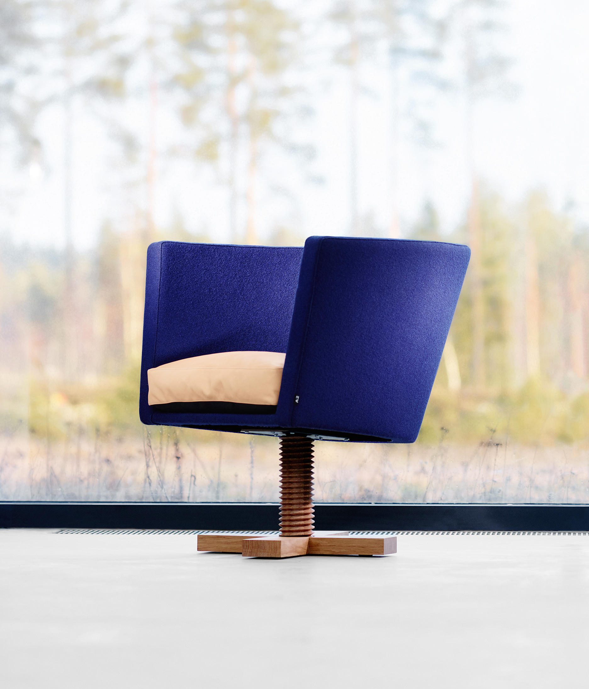 New bo swivel armchair loungesessel von a2 designers ab for Bo konzept
