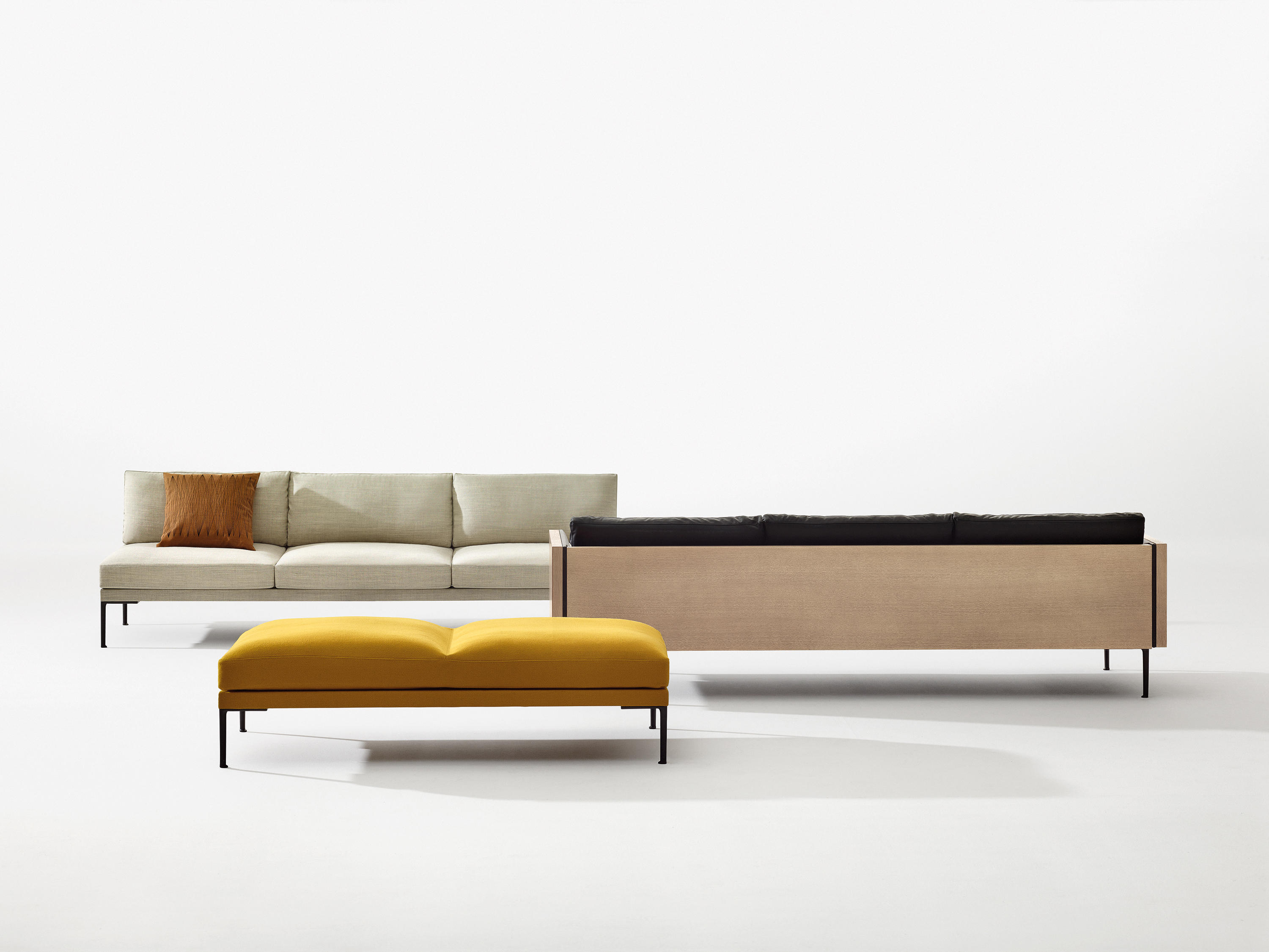 Steeve 2 Seater Sofa Sofas From Arper Architonic